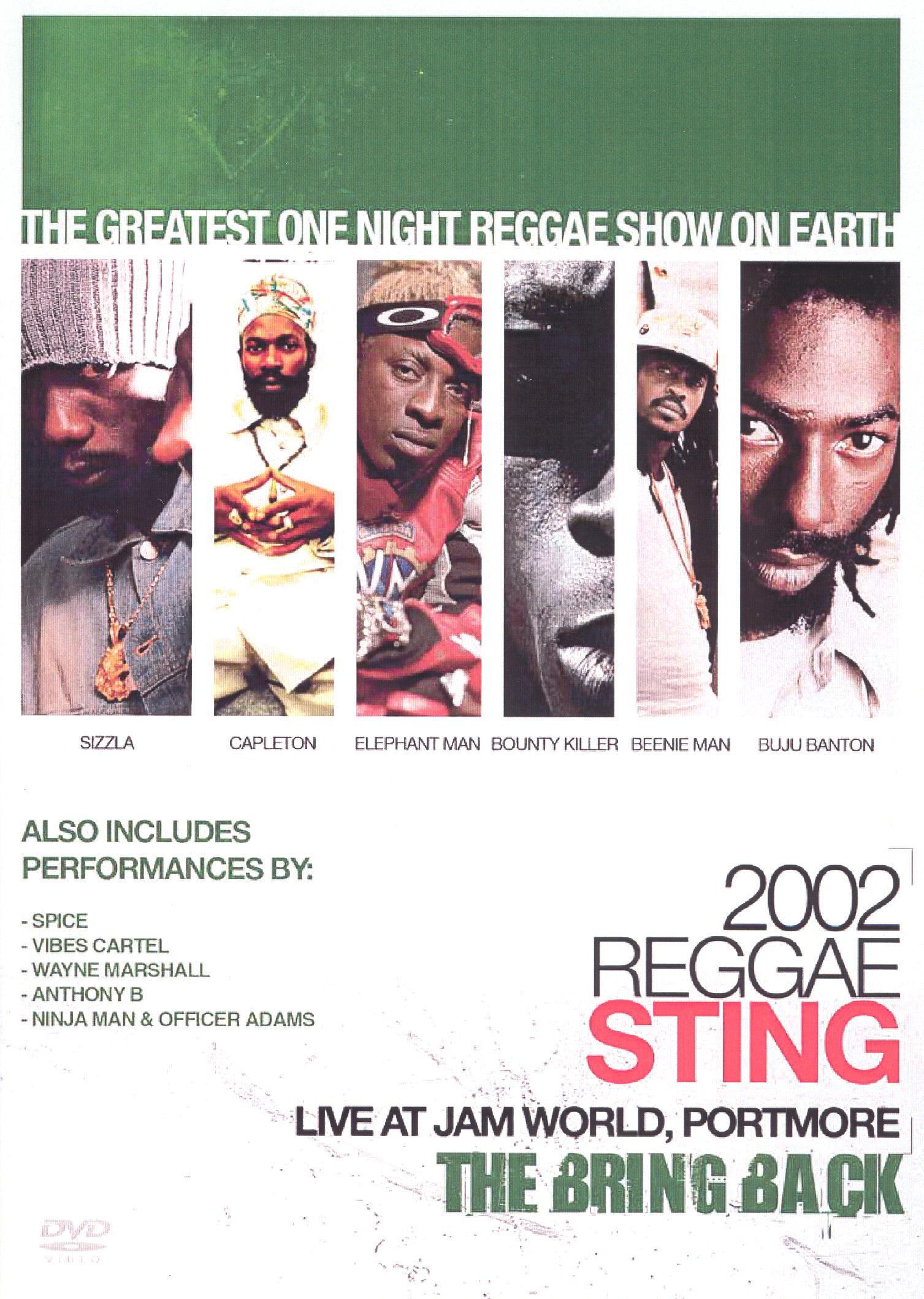 Reggae Sting 2002: The Bring Back