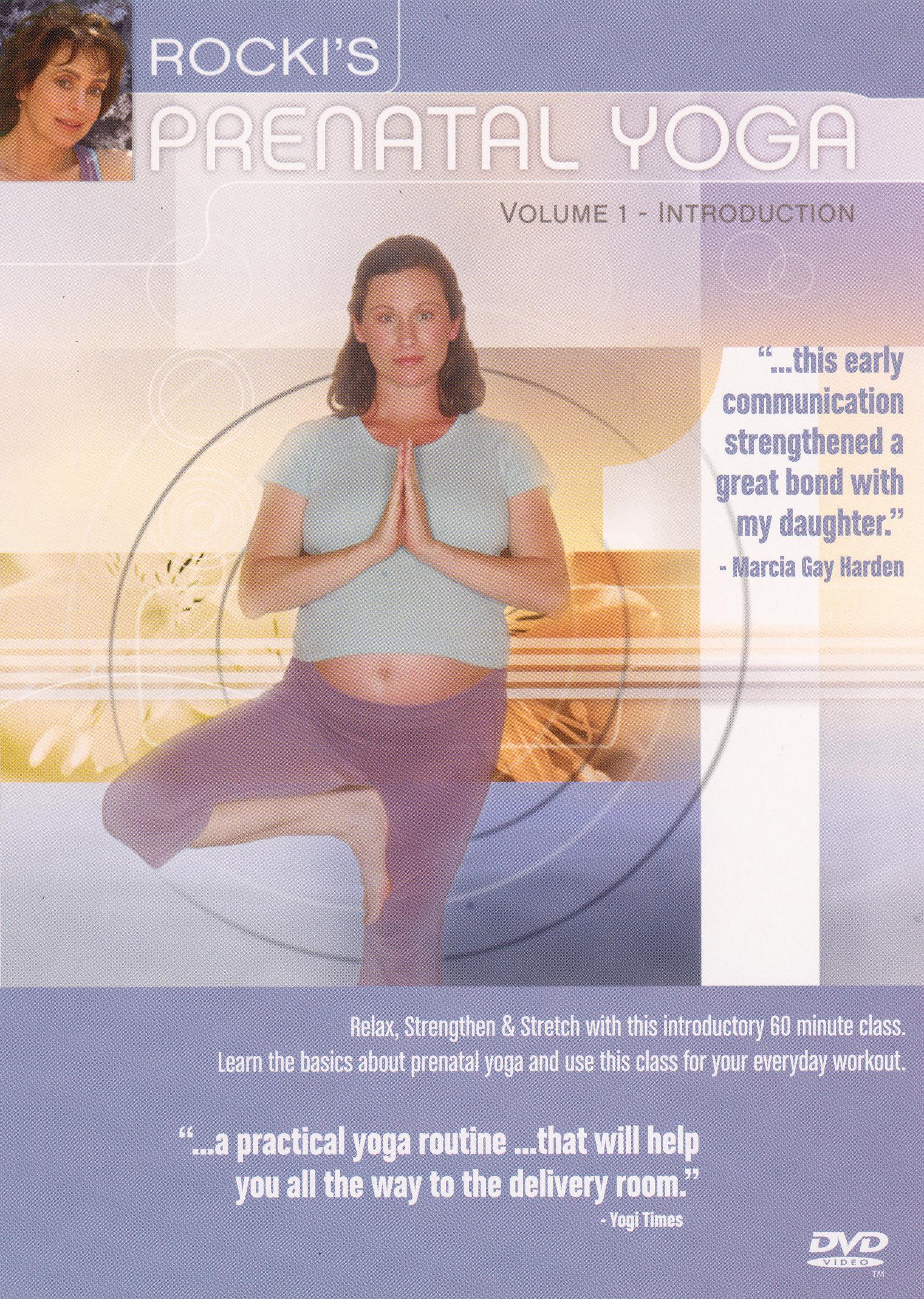 Rocki's Prenatal Yoga, Vol. 1: Introduction