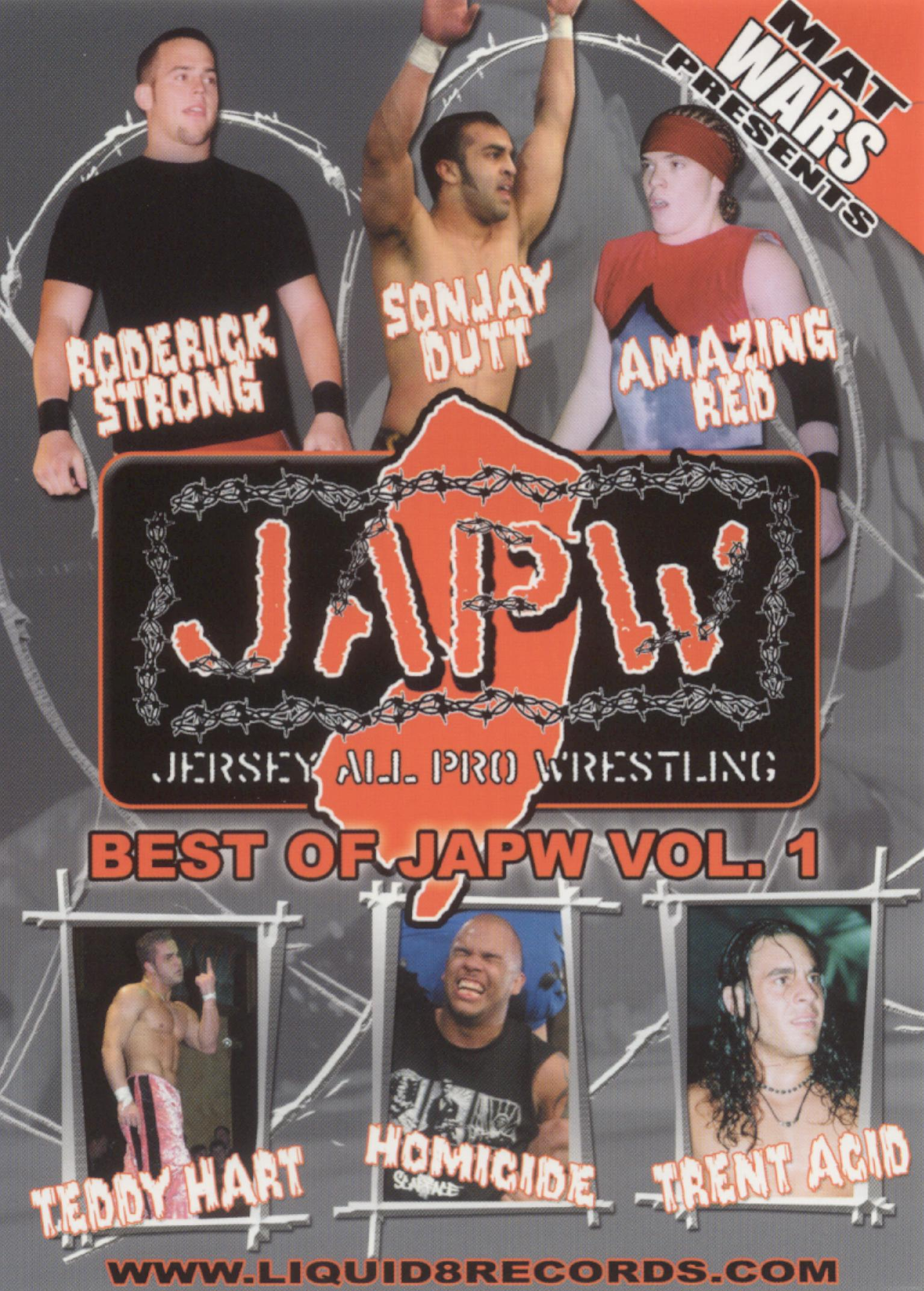 Best of Jersey All Pro Wrestling, Vol. 1