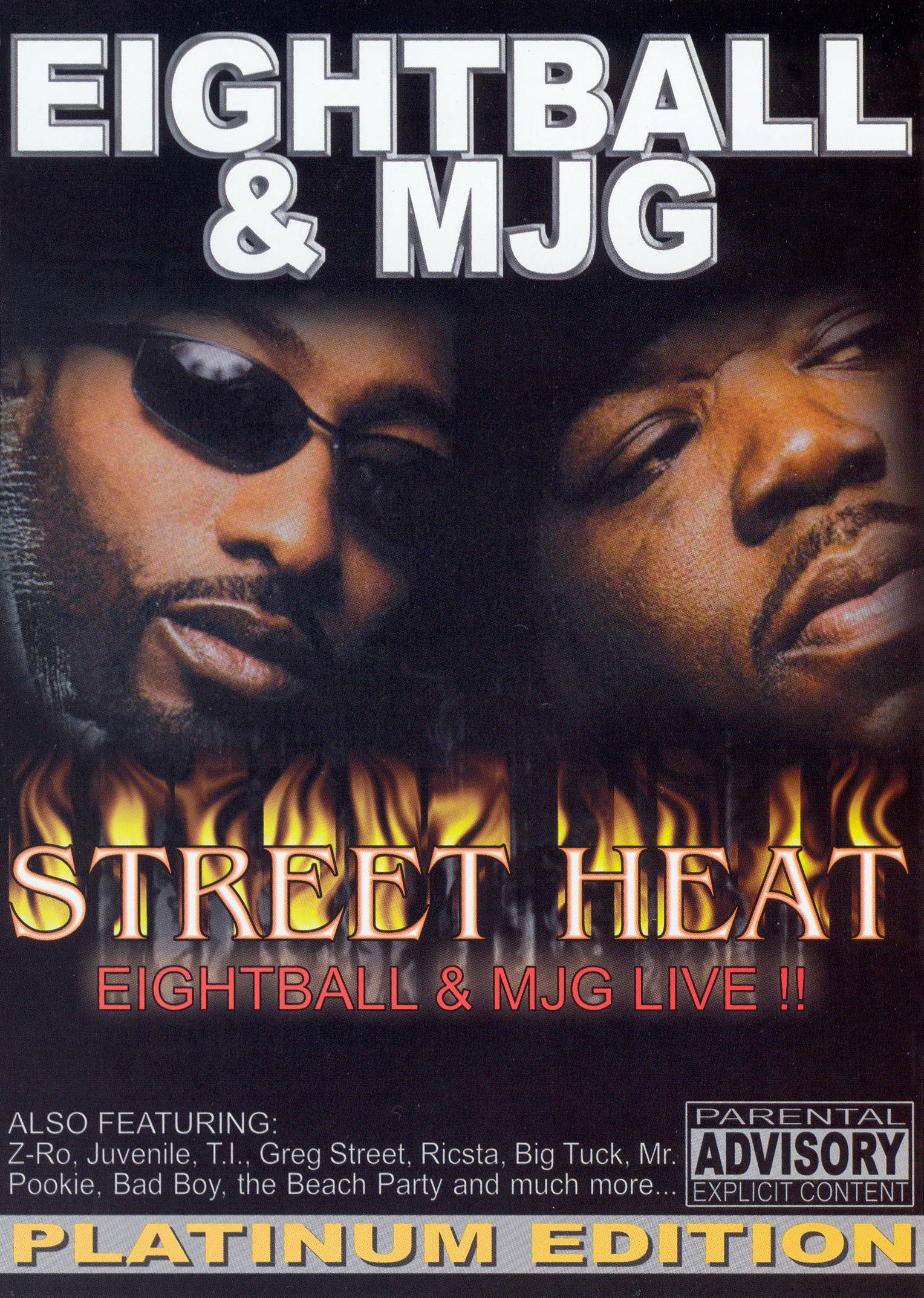 Street Heat Live: Eightball & MJG