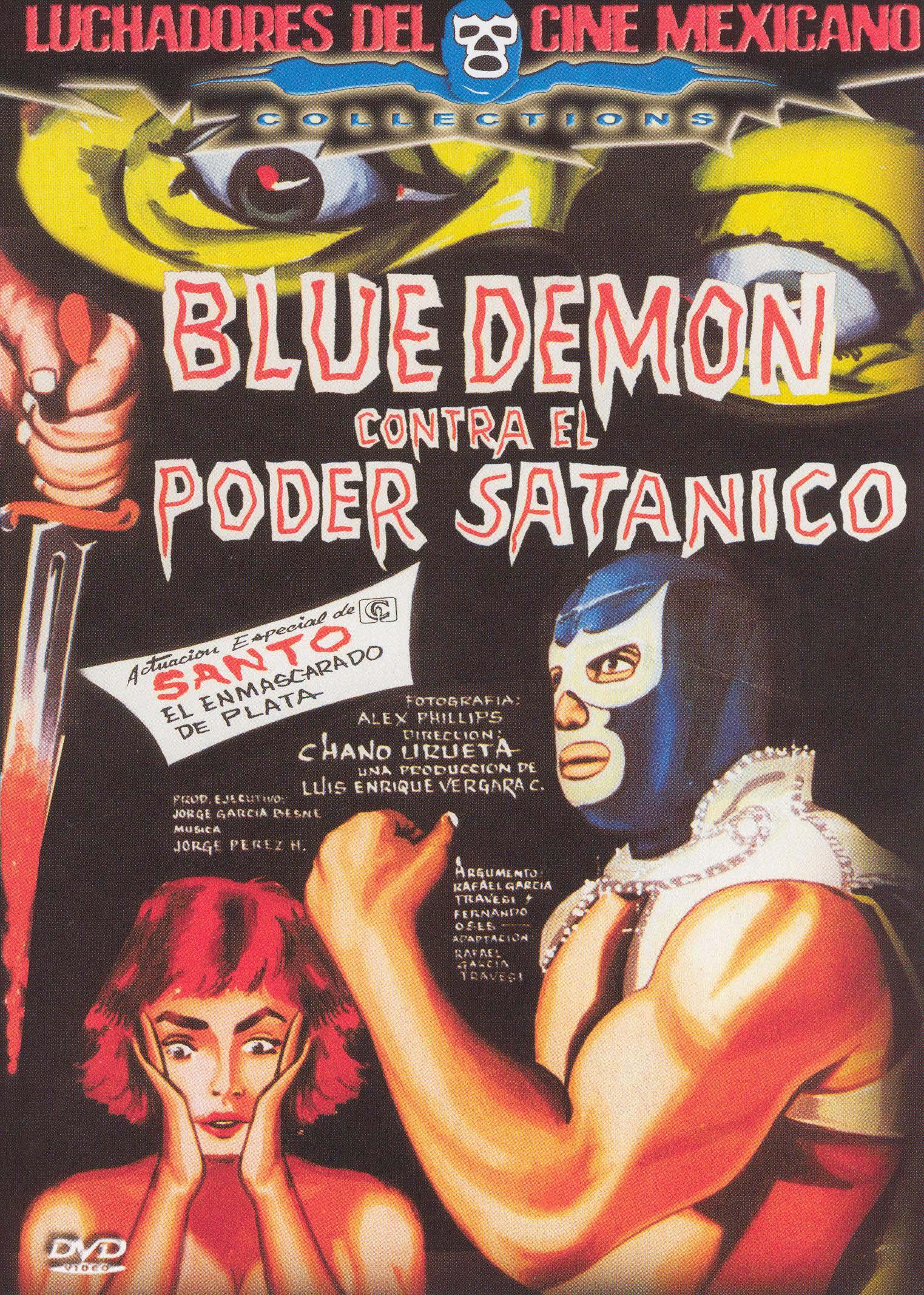 Blue Demon vs. El Poder Satanico