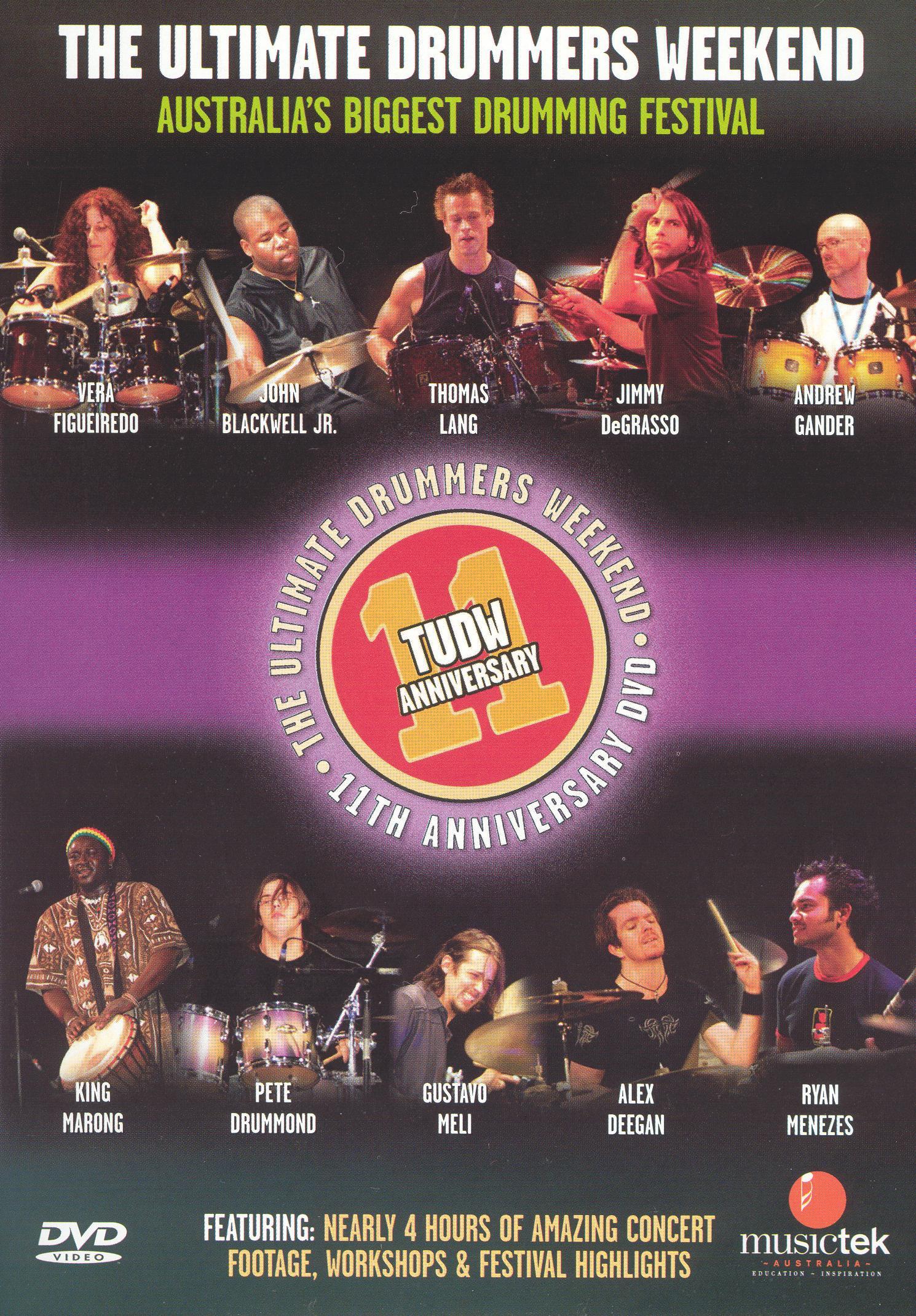 Ultimate Drummers Weekend 11th Anniversary