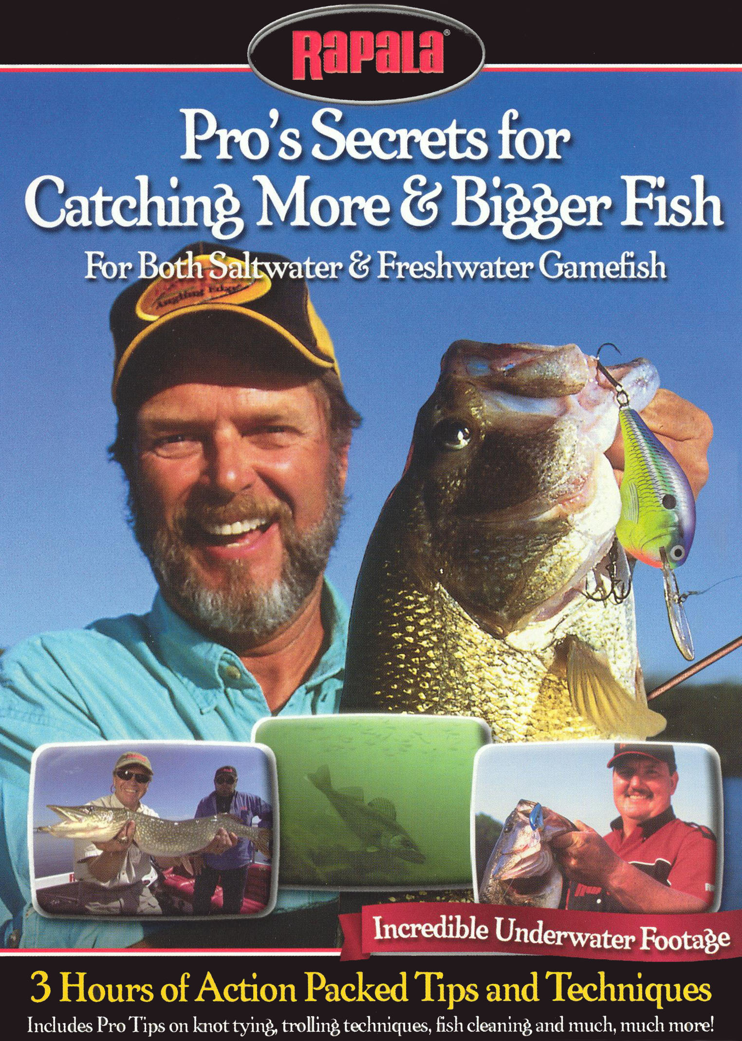 Pro's Secrets For Catching More & Bigger Fish