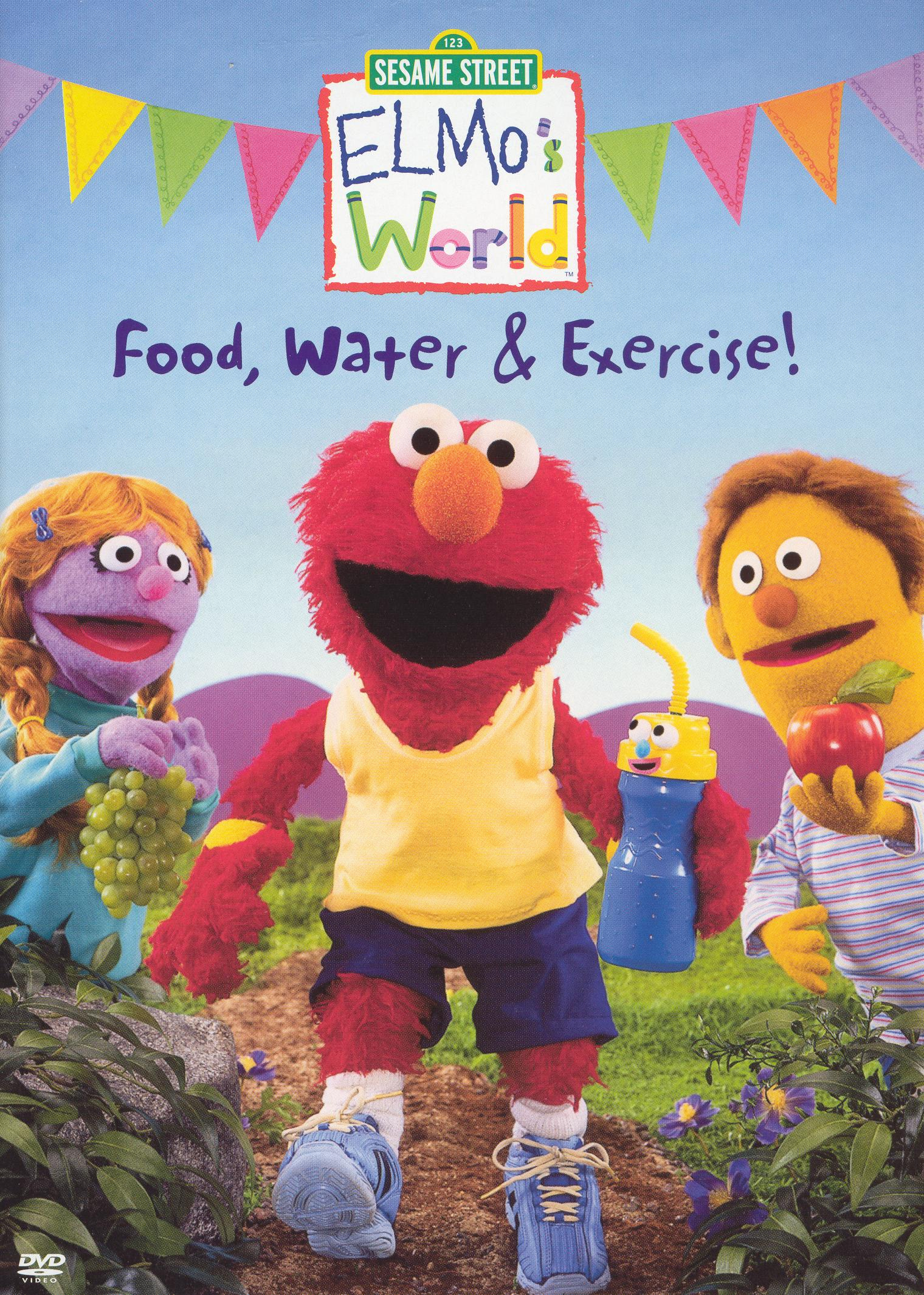 Sesame Street: Elmo's World - Food, Water and Exercise