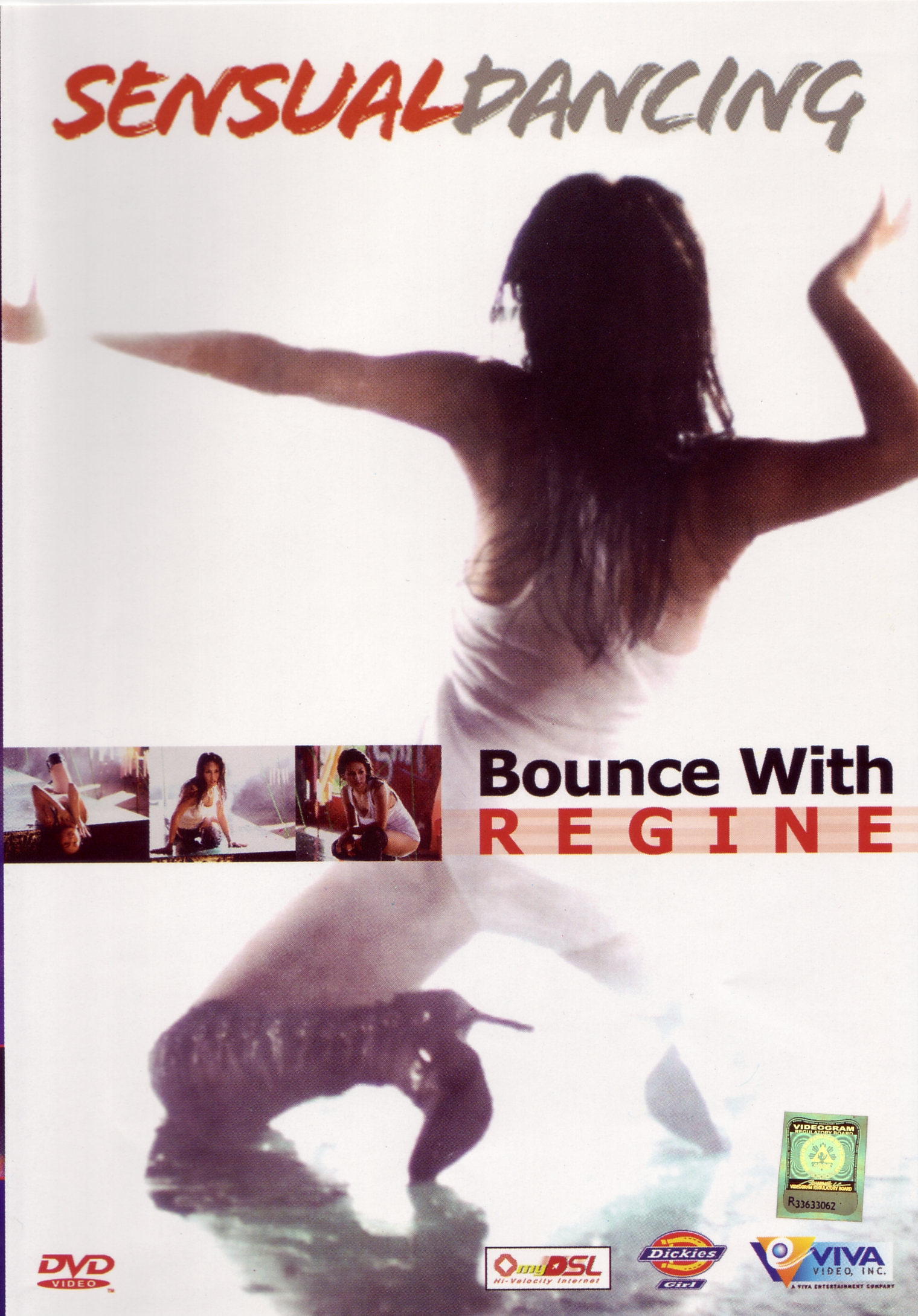 Sensual Dancing Bounce With Regine