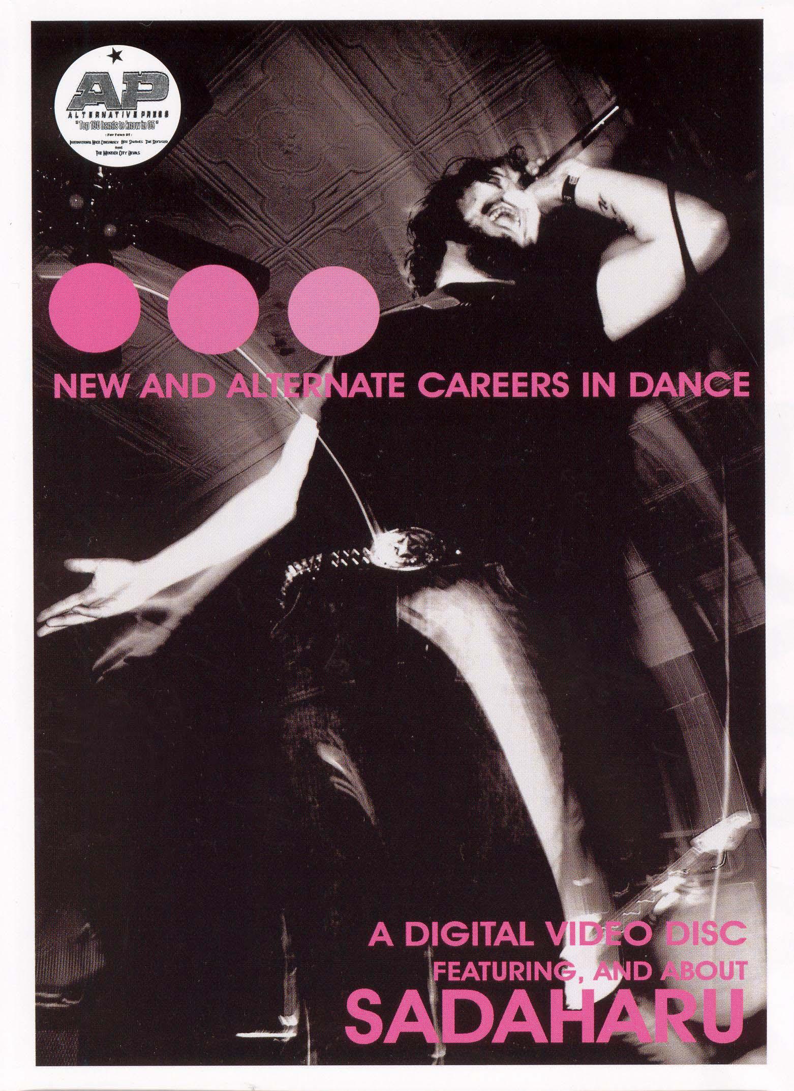 Sadaharu: New and Alternate Careers In Dance