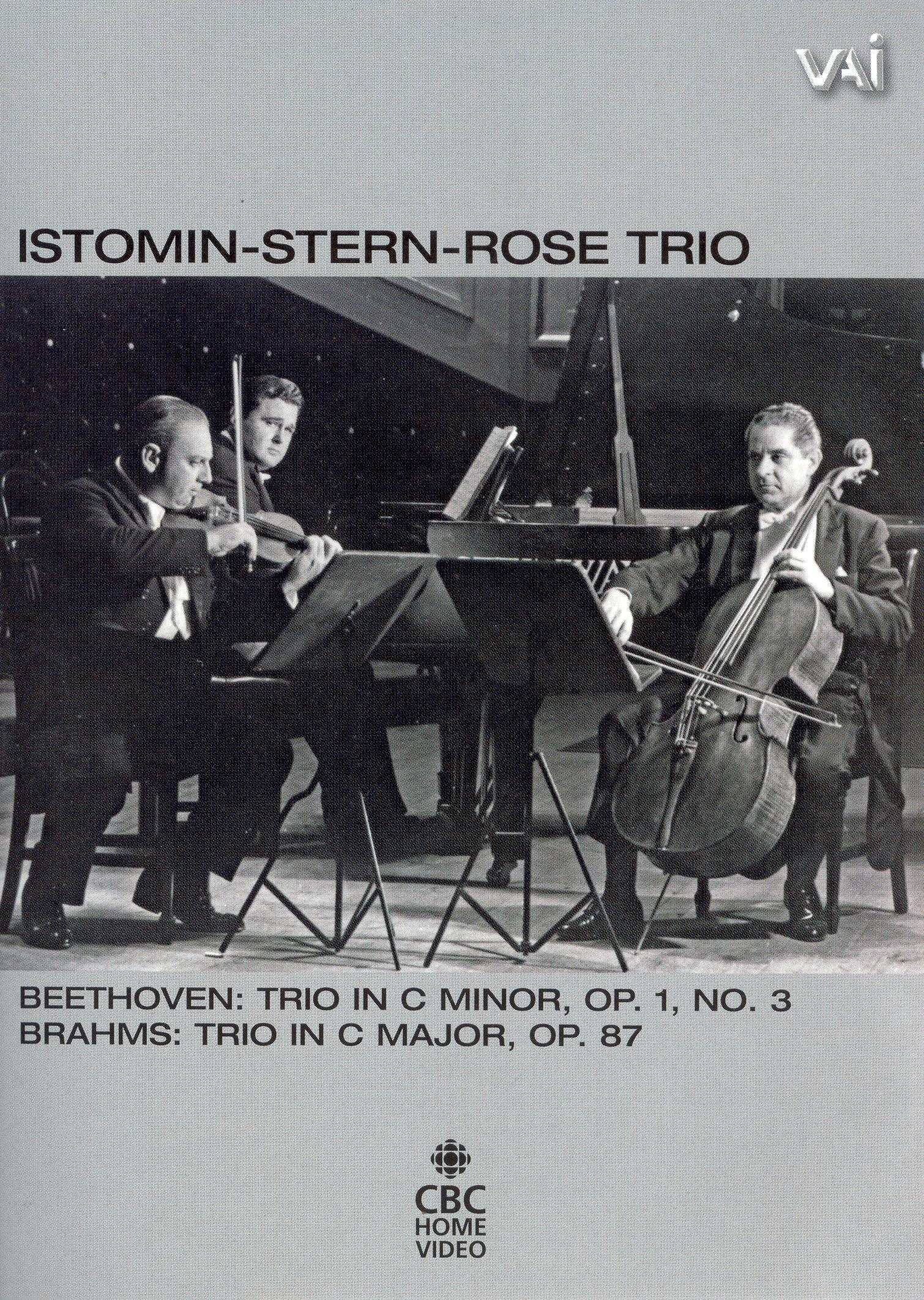 The Istomin-Stern-Rose Trio: Trio in C Minor / Trio in C Major