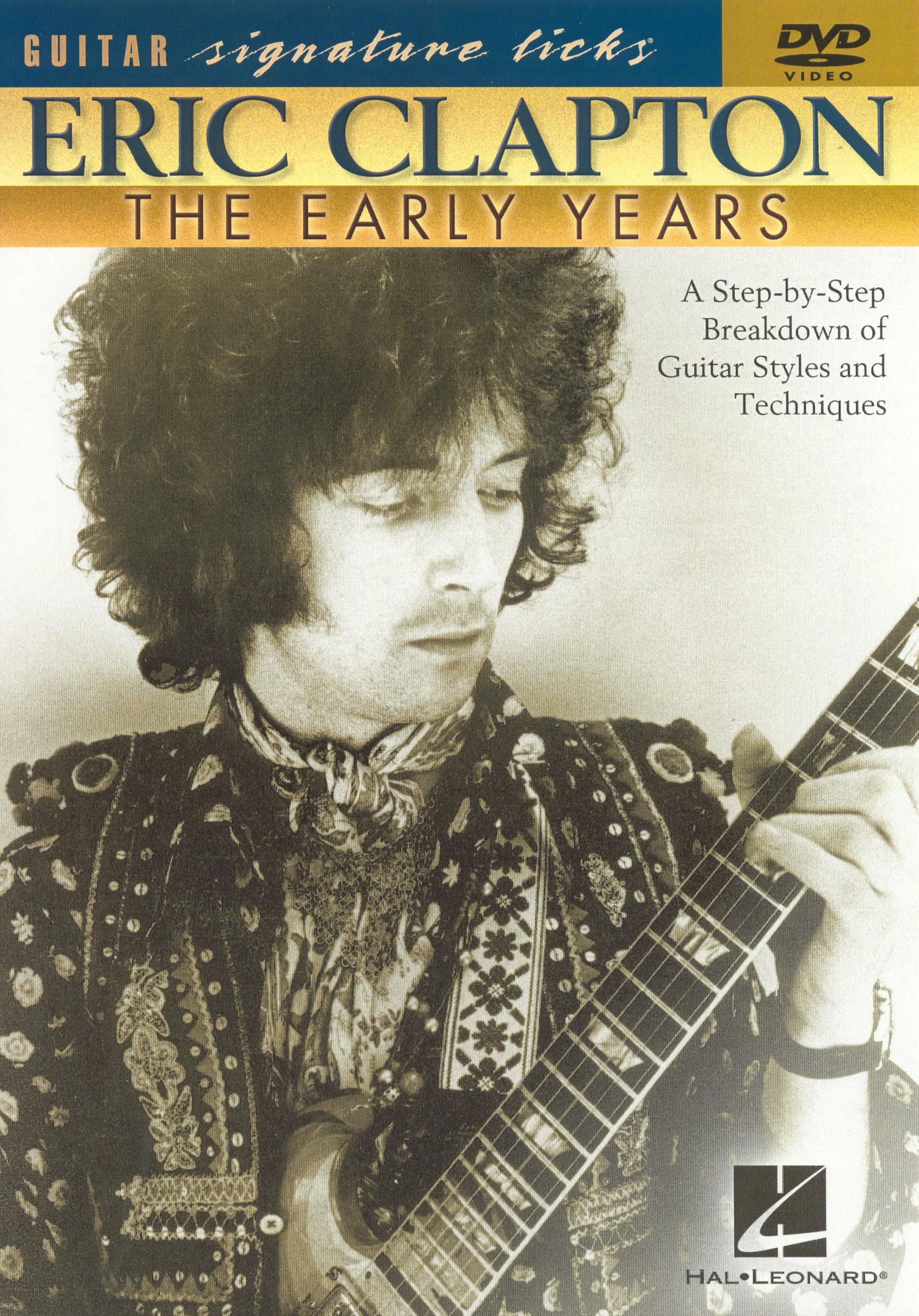 Eric Clapton: Clapton Early Years