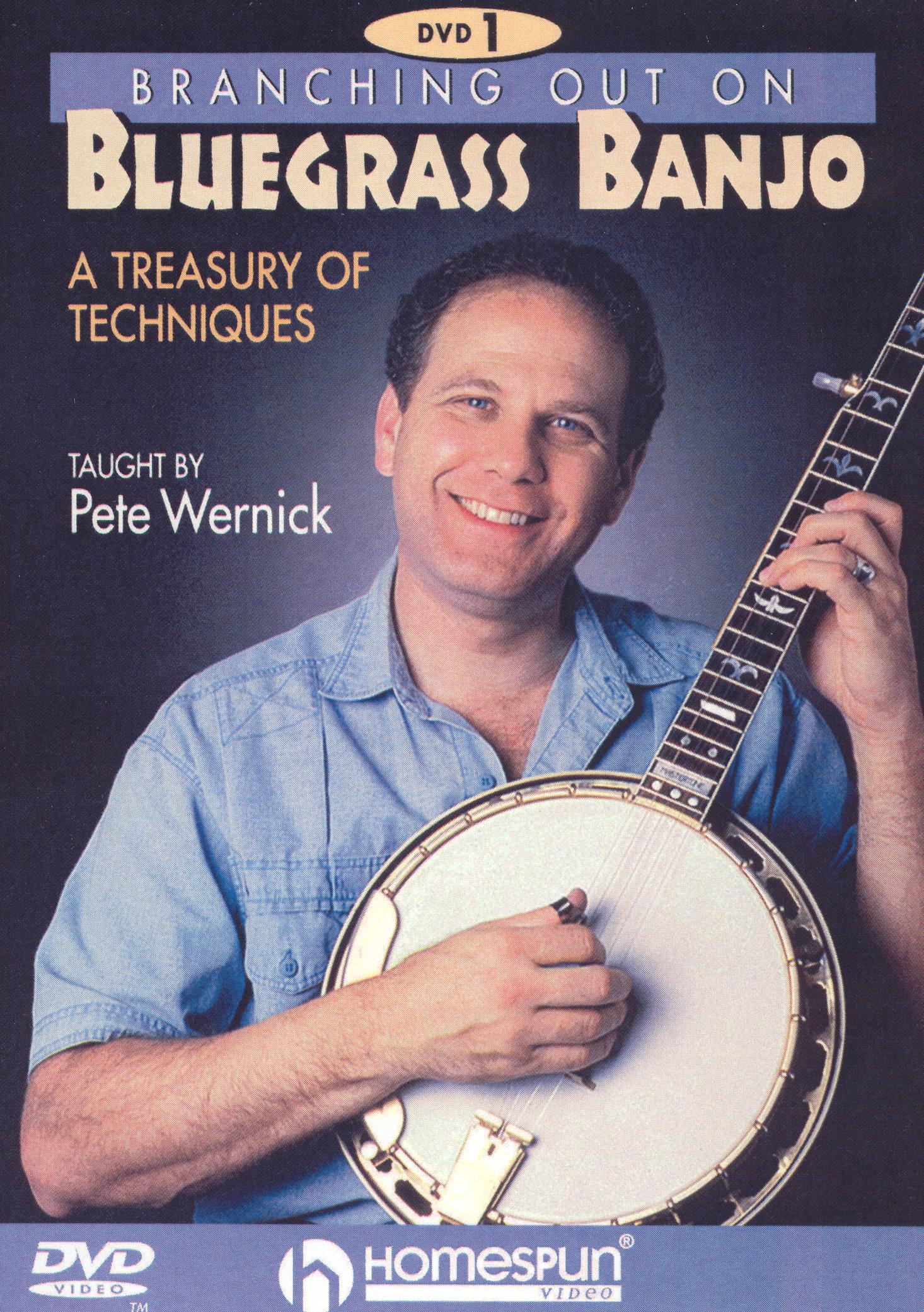 Branching Out on Bluegrass Banjo 1: A Treasury of Techniques