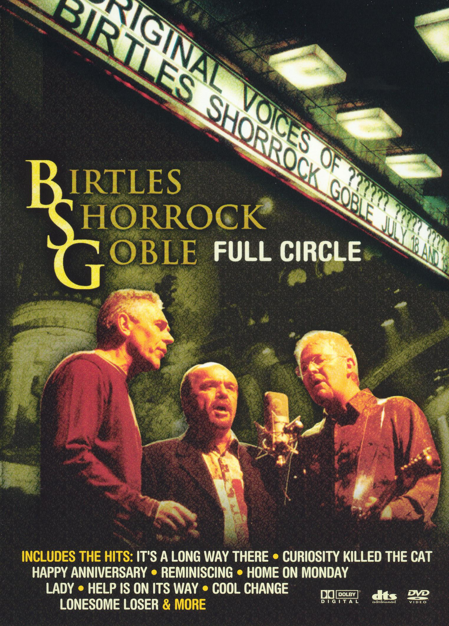Birtles Shorrock Goble: Full Circle