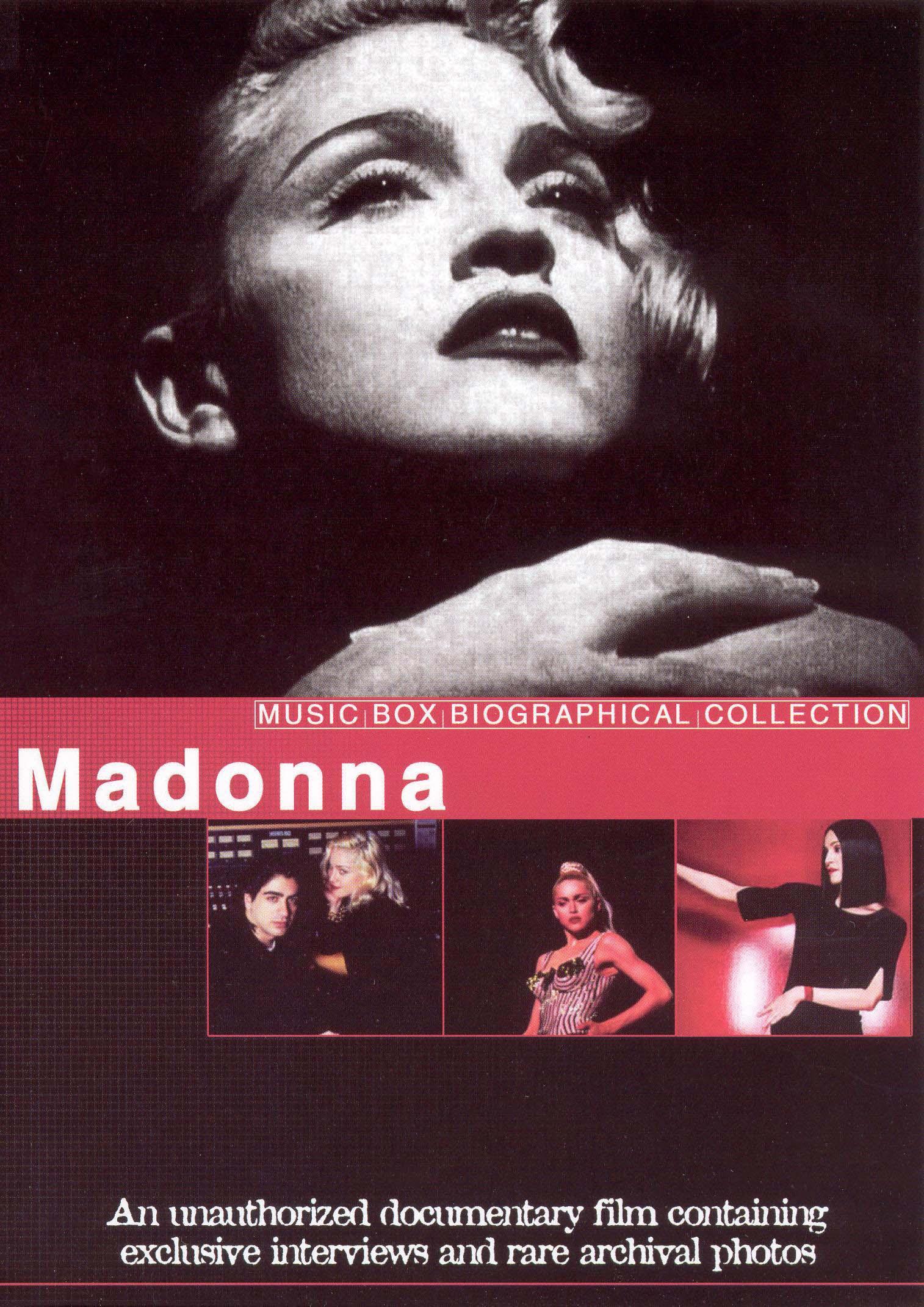 Music Box Biographical Collection: Madonna