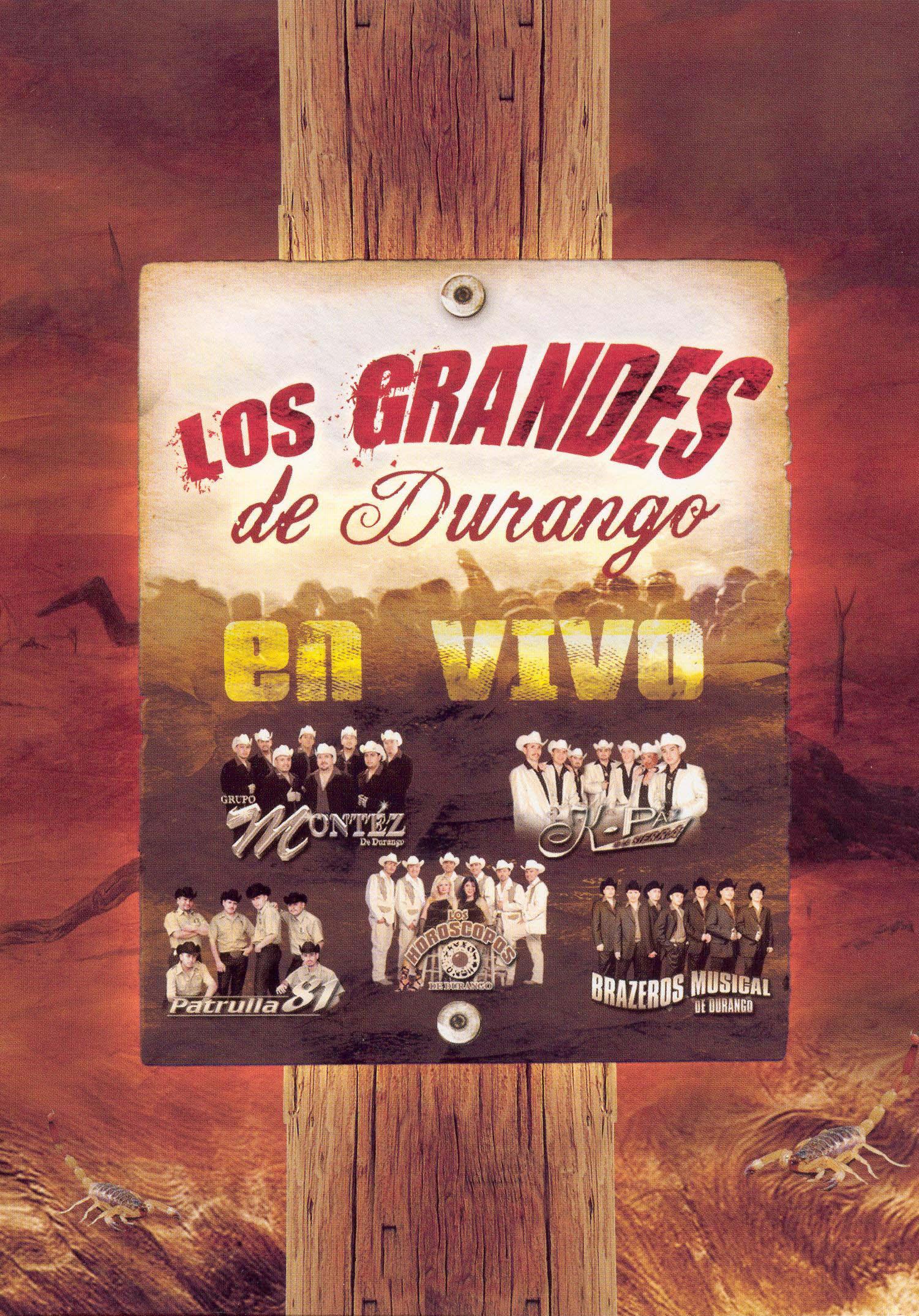 Los Grandes de Durango en Vivo