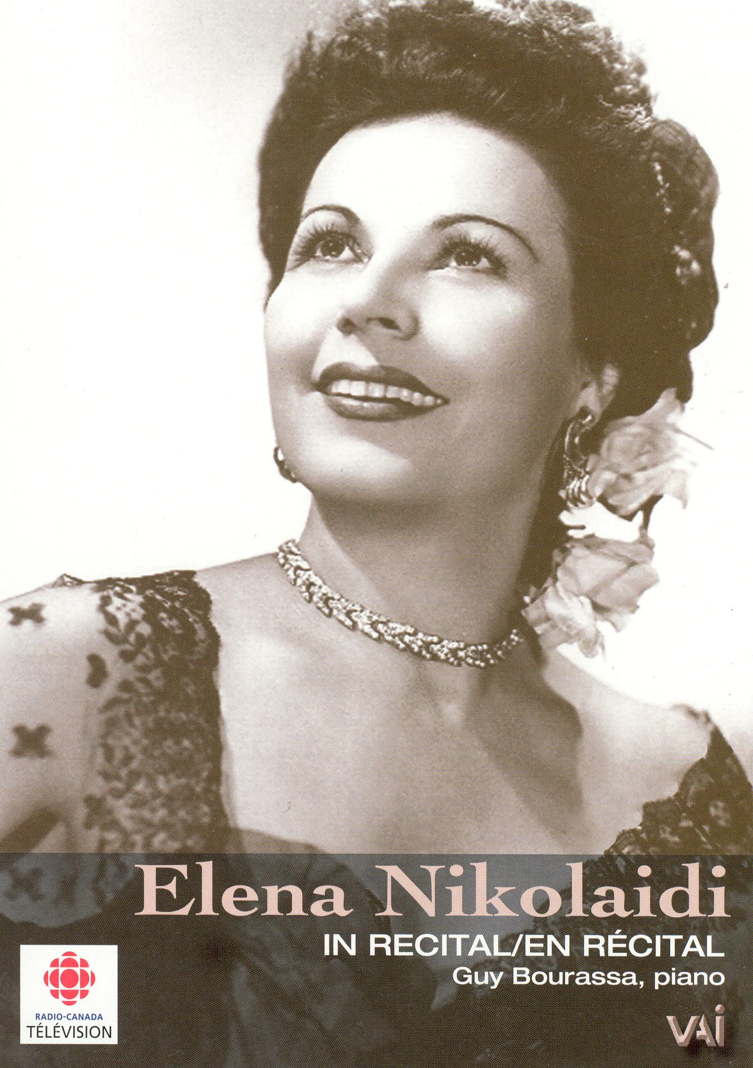 Elena Nikolaidi In Recital