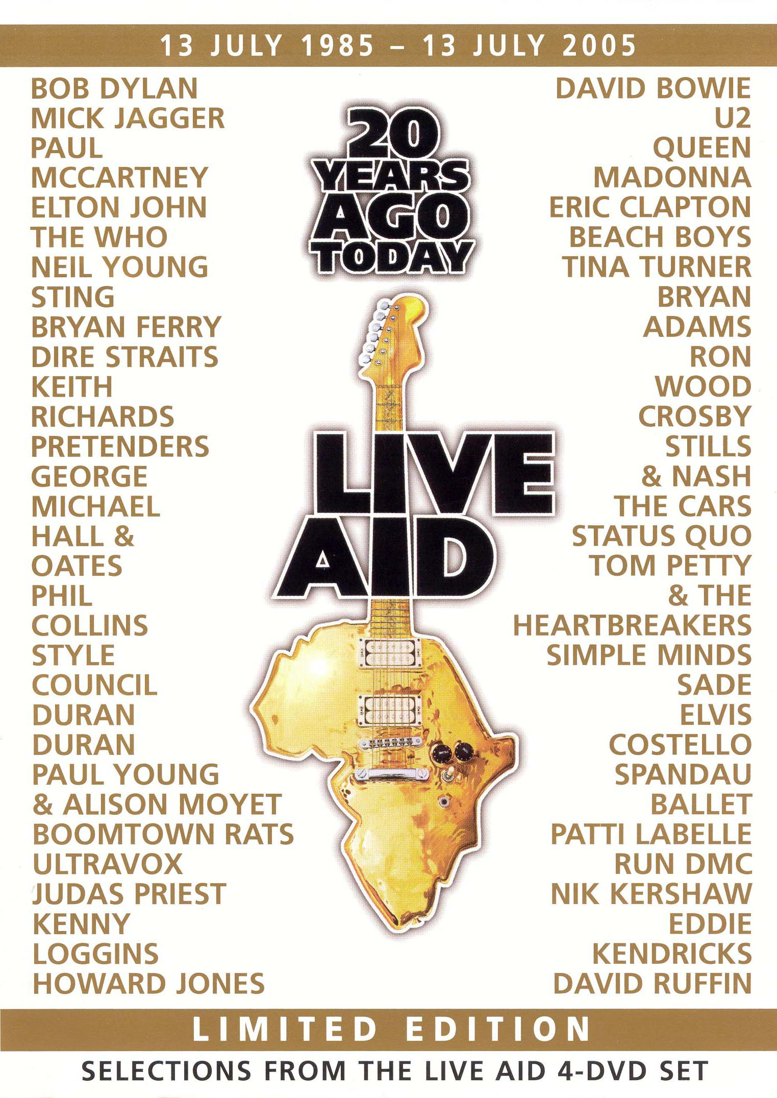 20 Years Ago Today: The Story of Live Aid