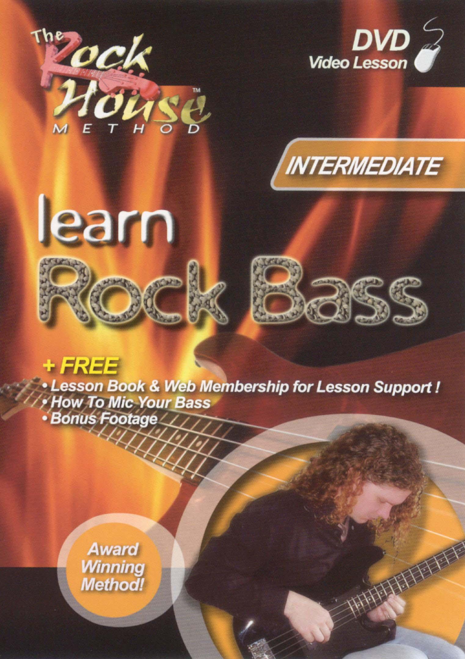 The Rock House Method: Learn Rock Bass - Intermediate