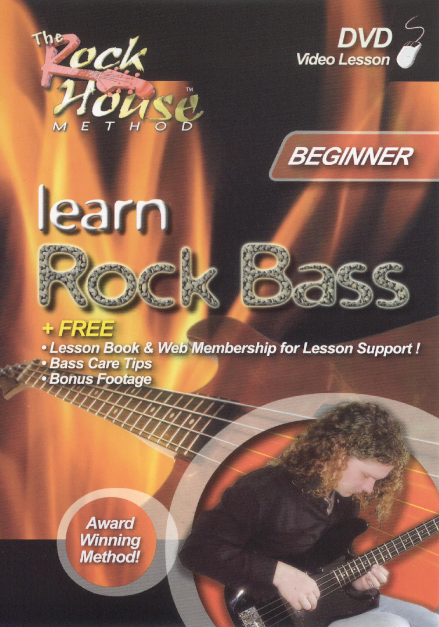 The Rock House Method: Learn Rock Bass - Level 1