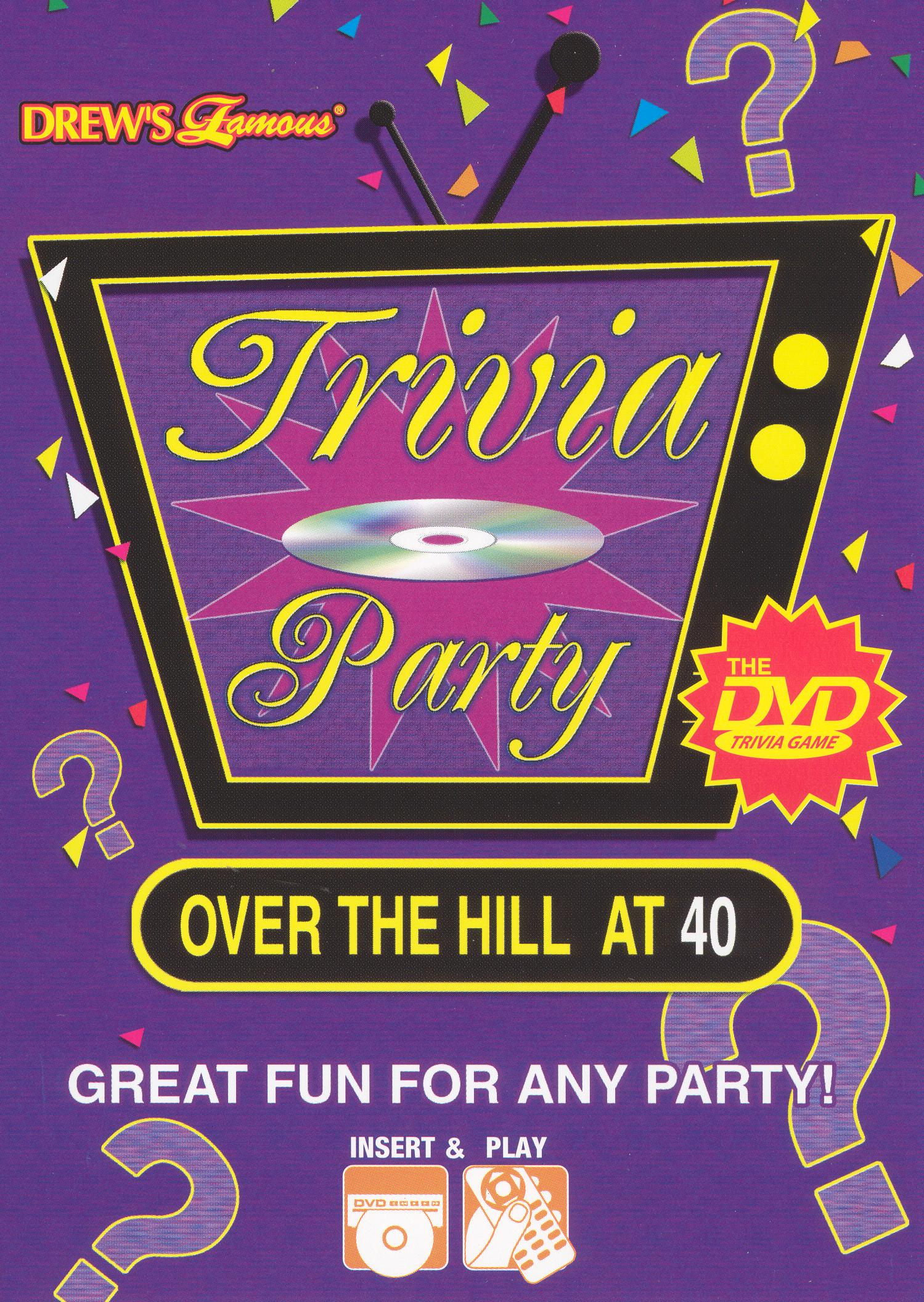 Trivia Party Over the Hill 60's and 70's