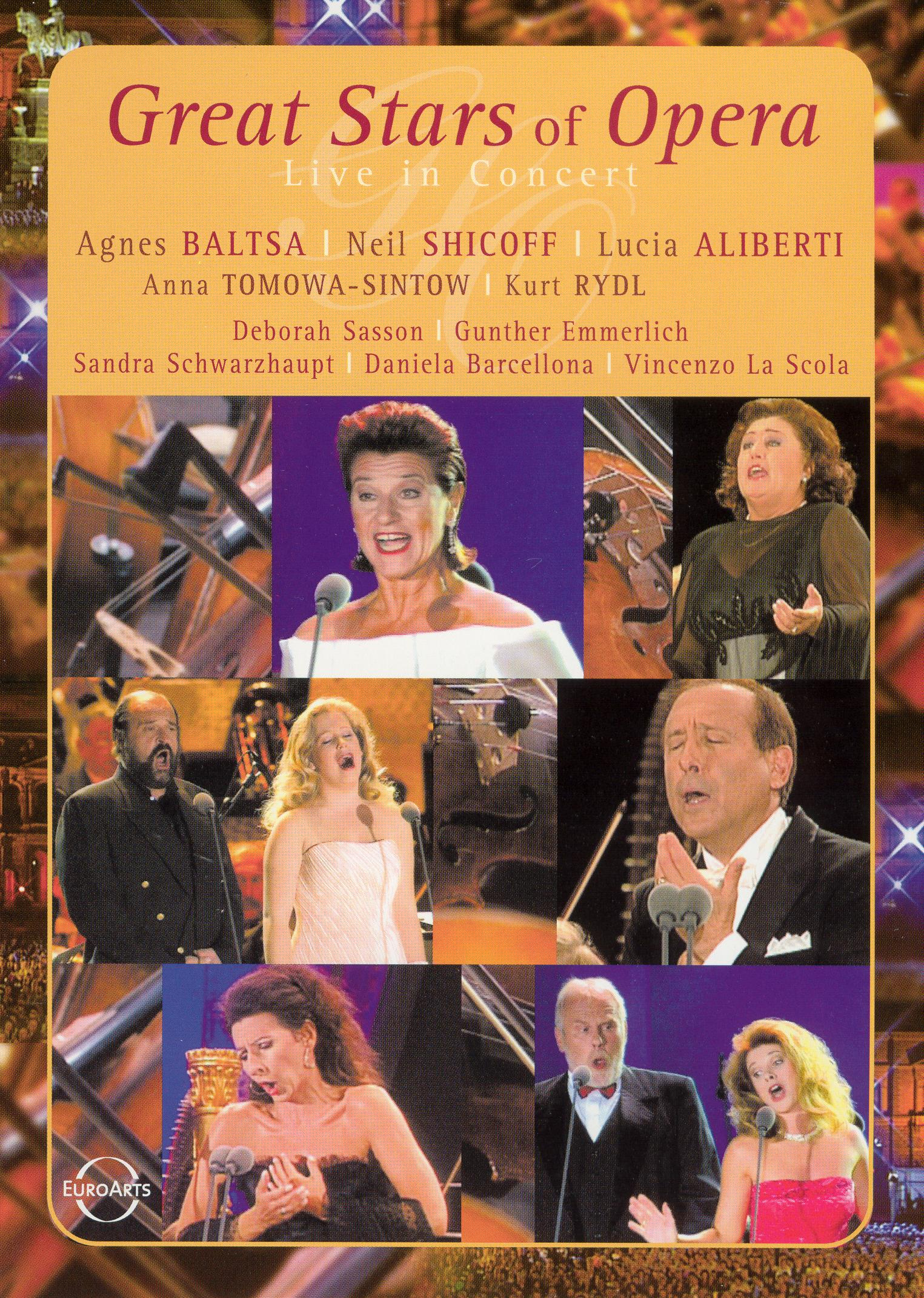 Great Stars of Opera: Live in Concert