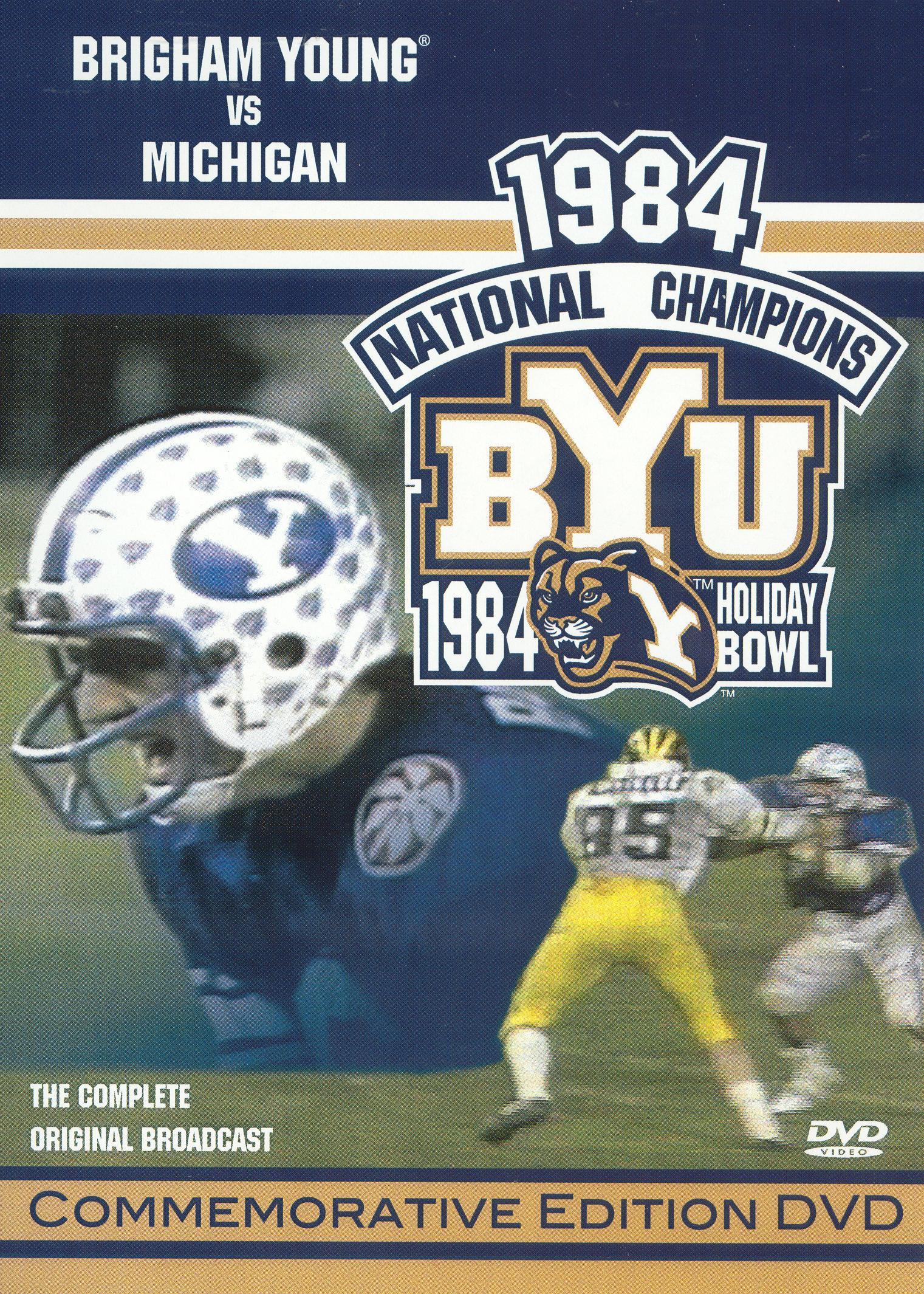 1984 Brigham Young vs. Michigan