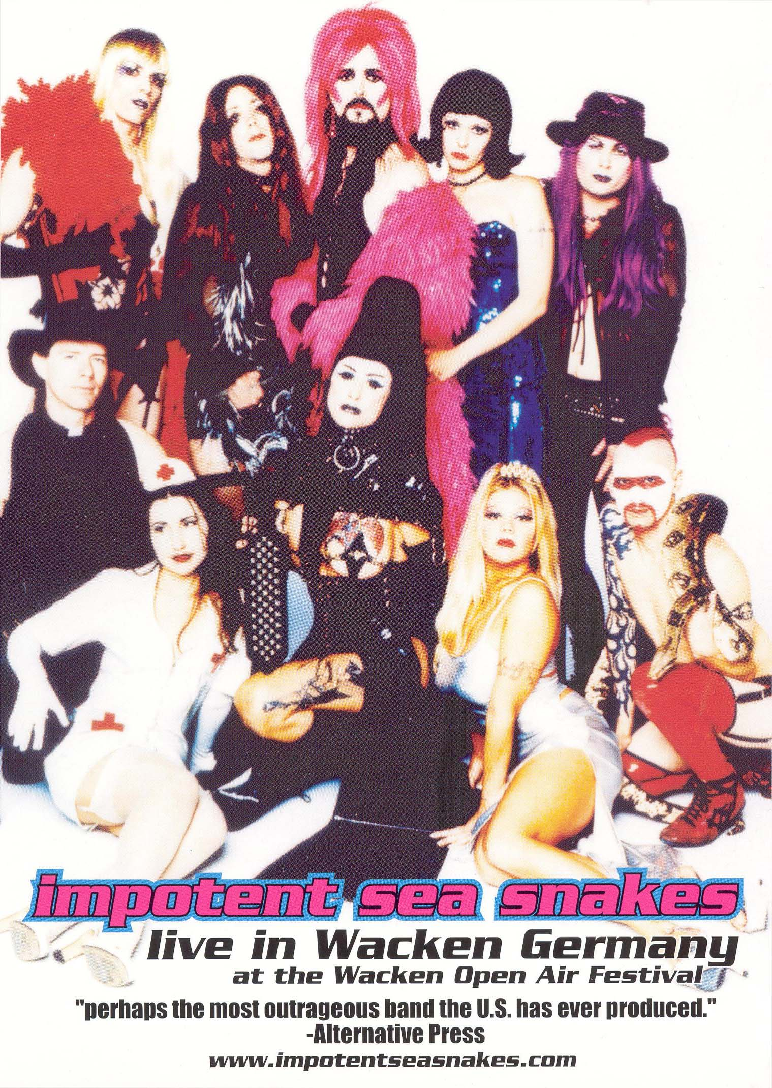 Impotent Sea Snakes: Live in Germany