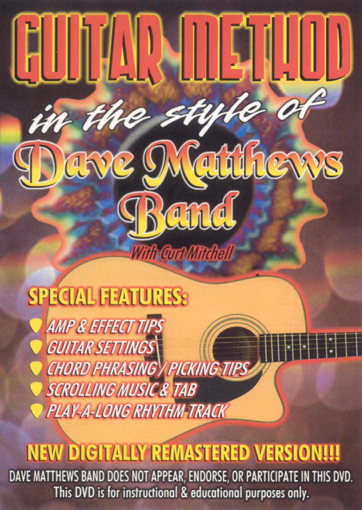 Guitar Method: In the Style of Dave Matthews Band