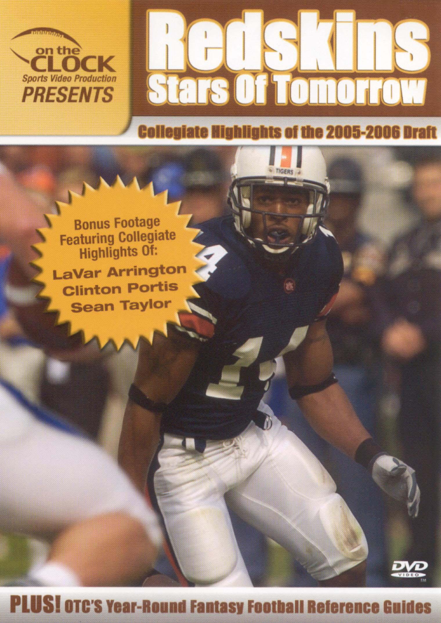 On the Clock Presents: Redskins - 2005 Draft Picks Collegiate Highlights