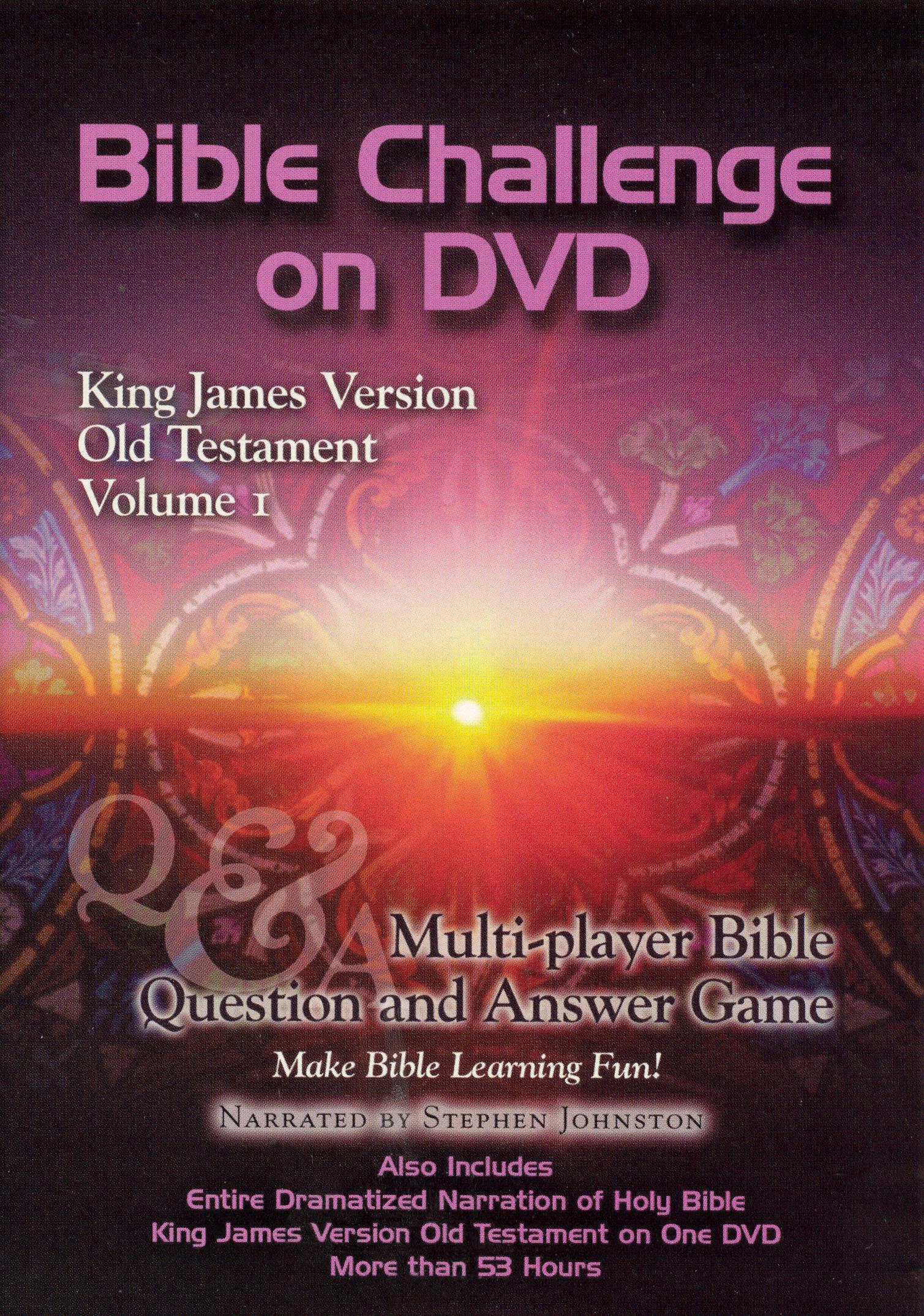 Bible Challenge on DVD: King James Version - Old Testament, Vol. 1