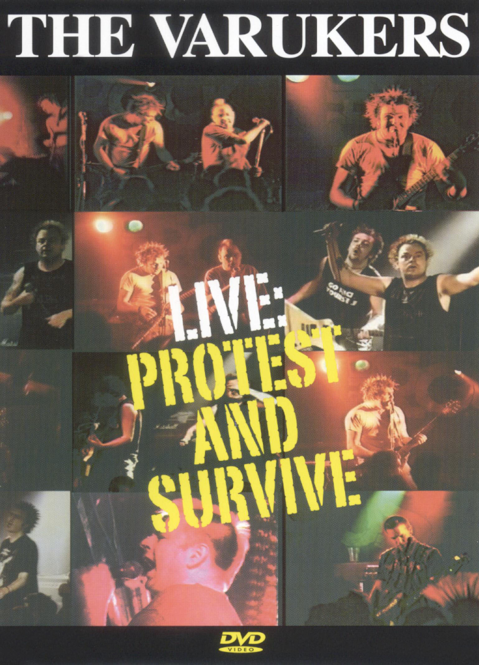 Varukers: Protest & Survive - The Varukers Live