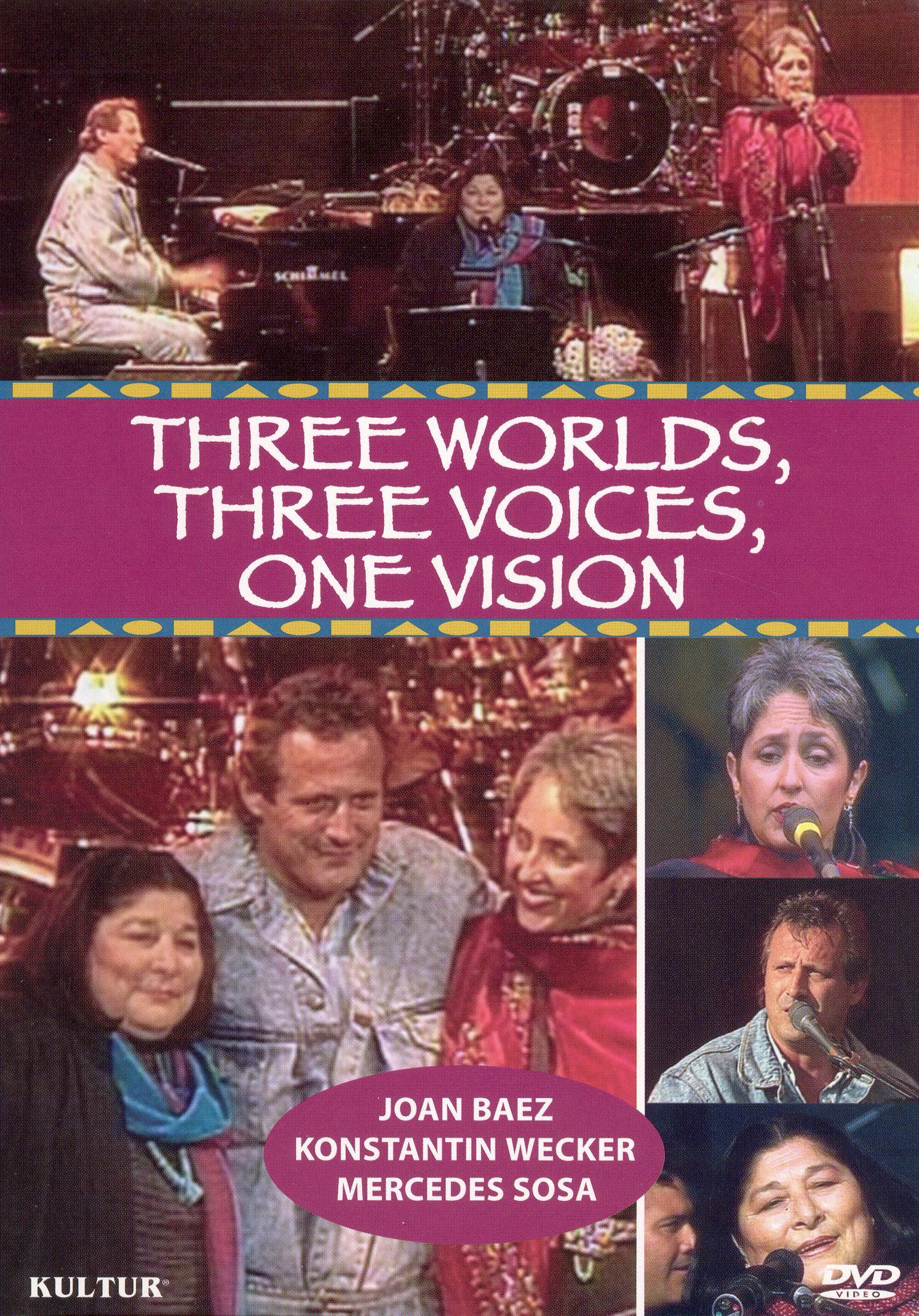 Joan Baez, Mercedes Sosa and Konstantin Wecker: Three Worlds, Three Voices, One Vision