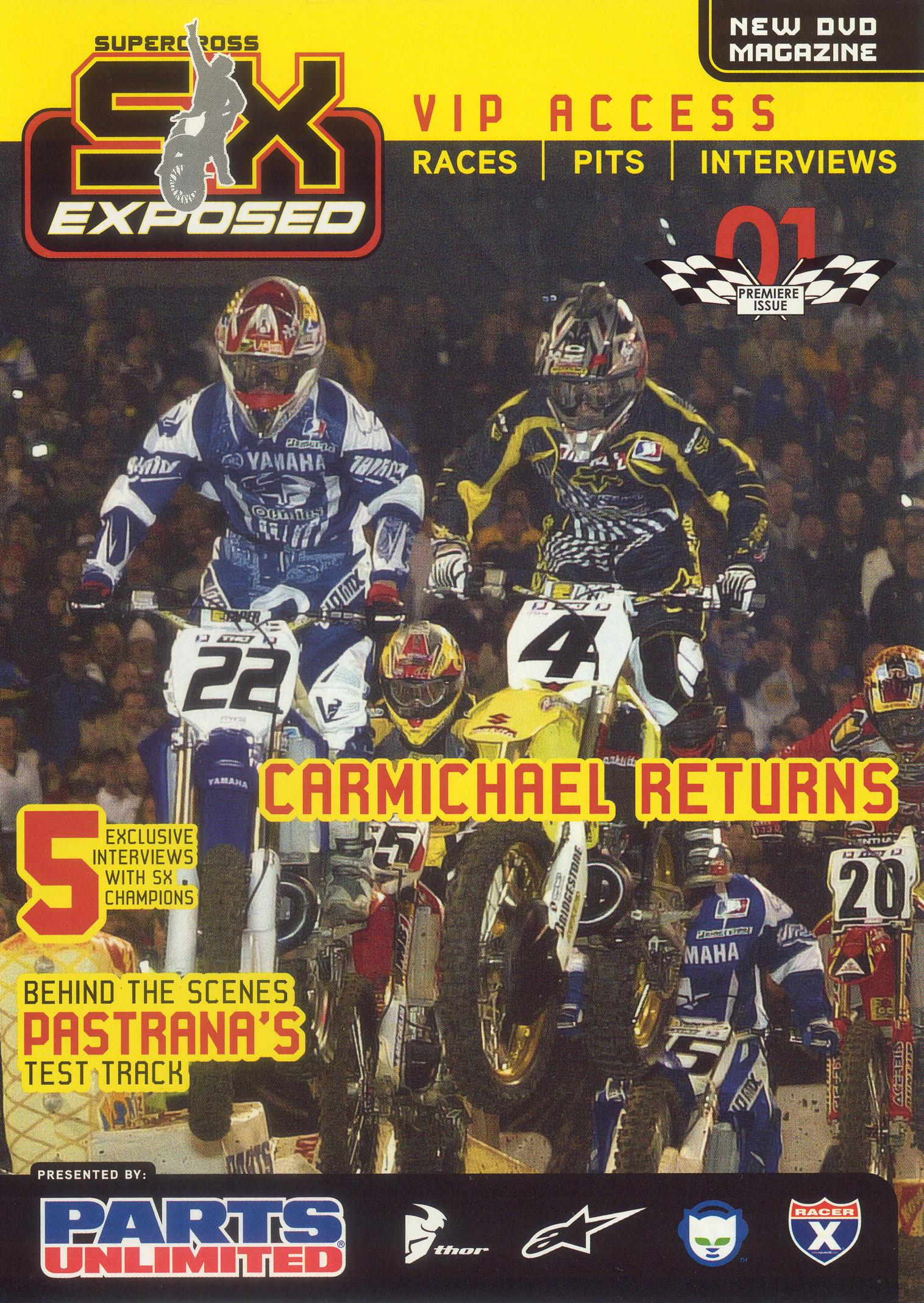 Supercross Exposed, Vol. 1: Premiere Issue