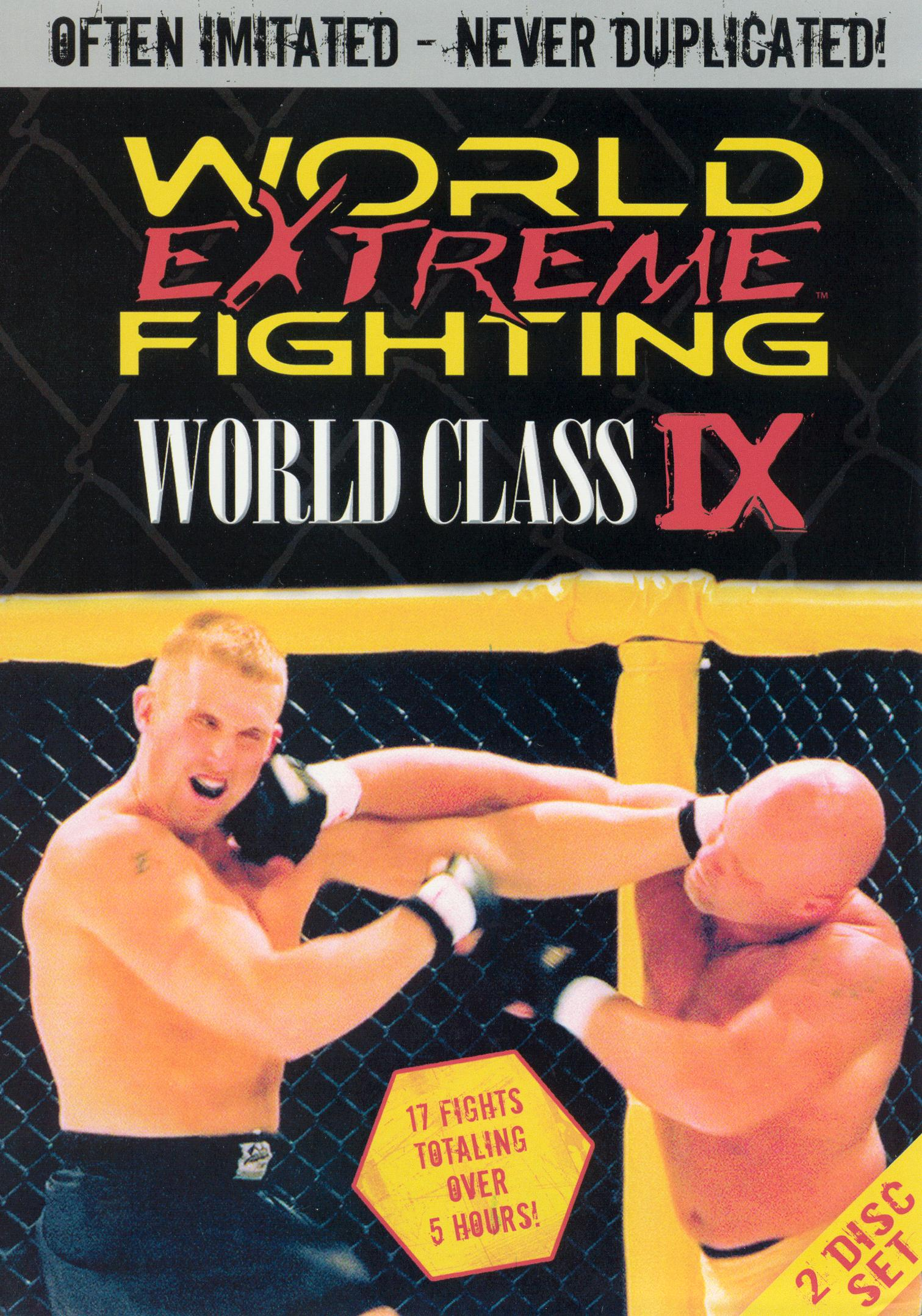 World Extreme Fighting: World Class IX
