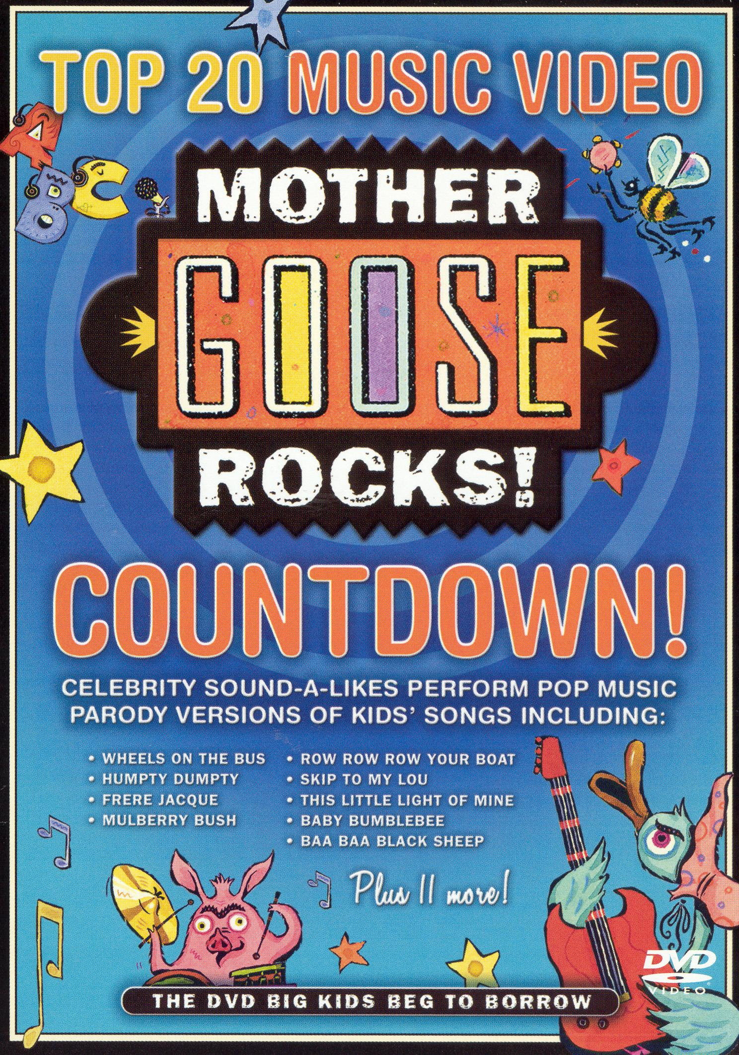 Mother Goose Rocks!: Top 20 Music Video Countdown