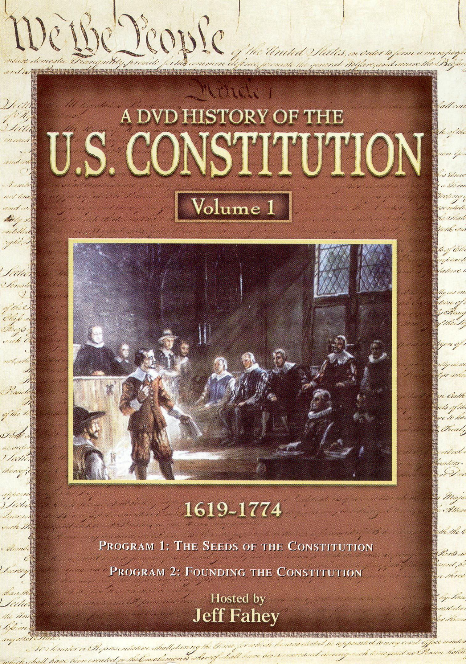 A DVD History of the U.S. Constitution, Vol. 1