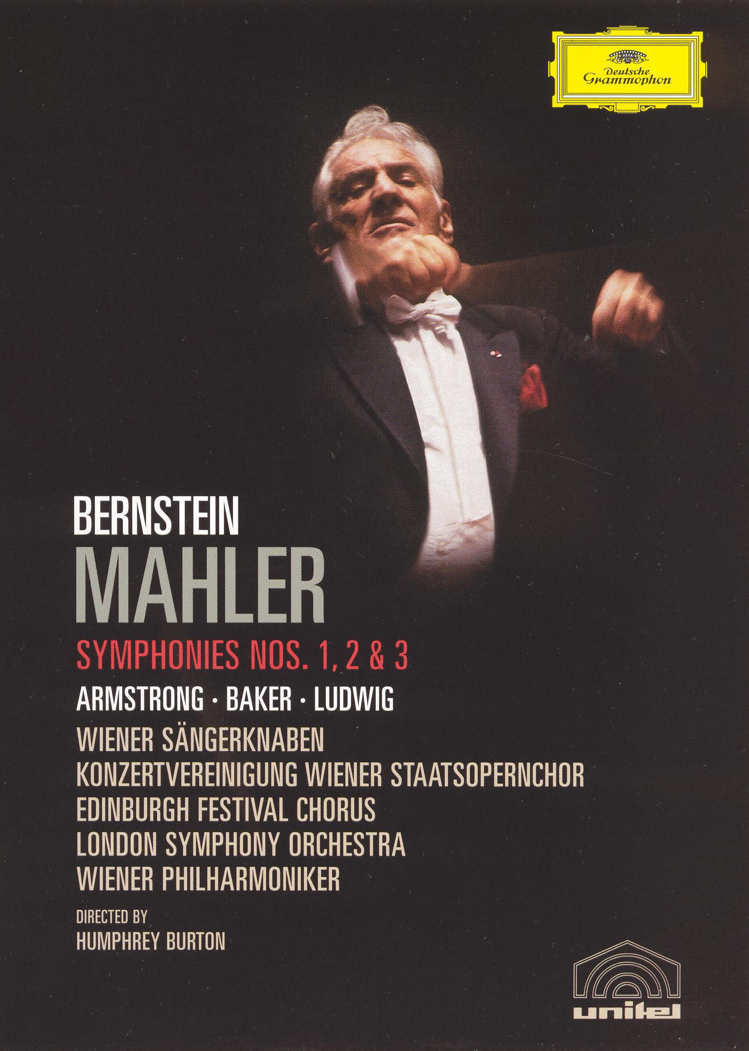 Bernstein: Mahler - Symphonies 1, 2 & 3
