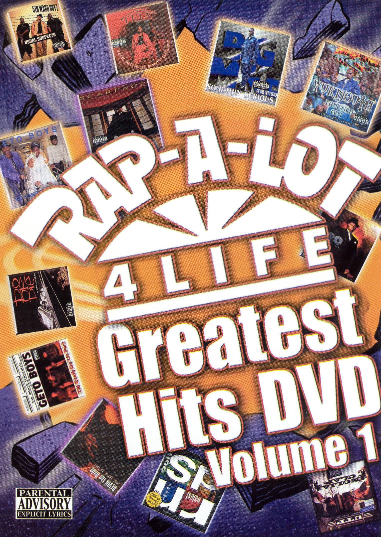 Rap-A-Lot Greatest Hits DVD, Vol. 1