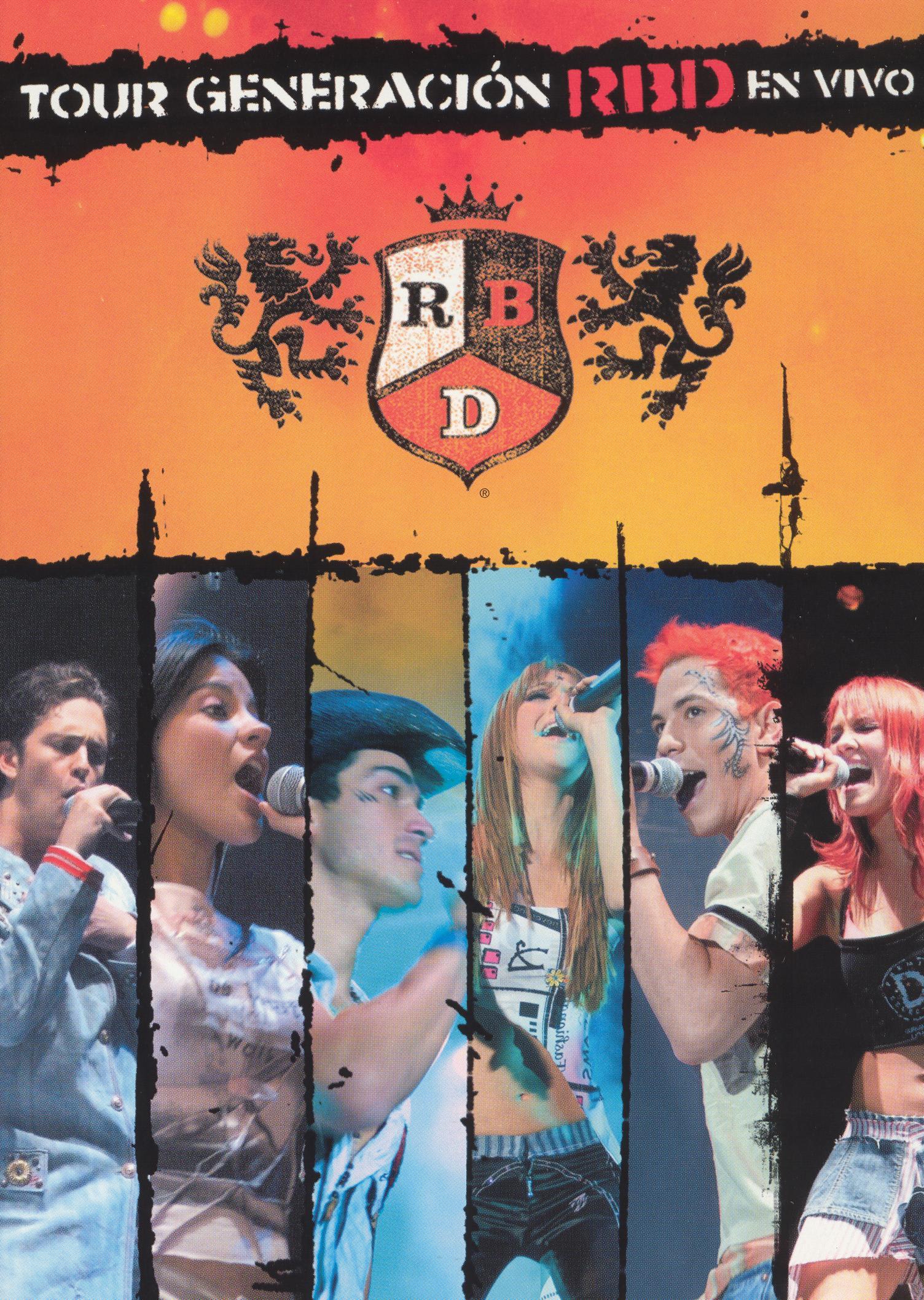 RBD [ Rebelde ]: Tour Generacion en Vivo