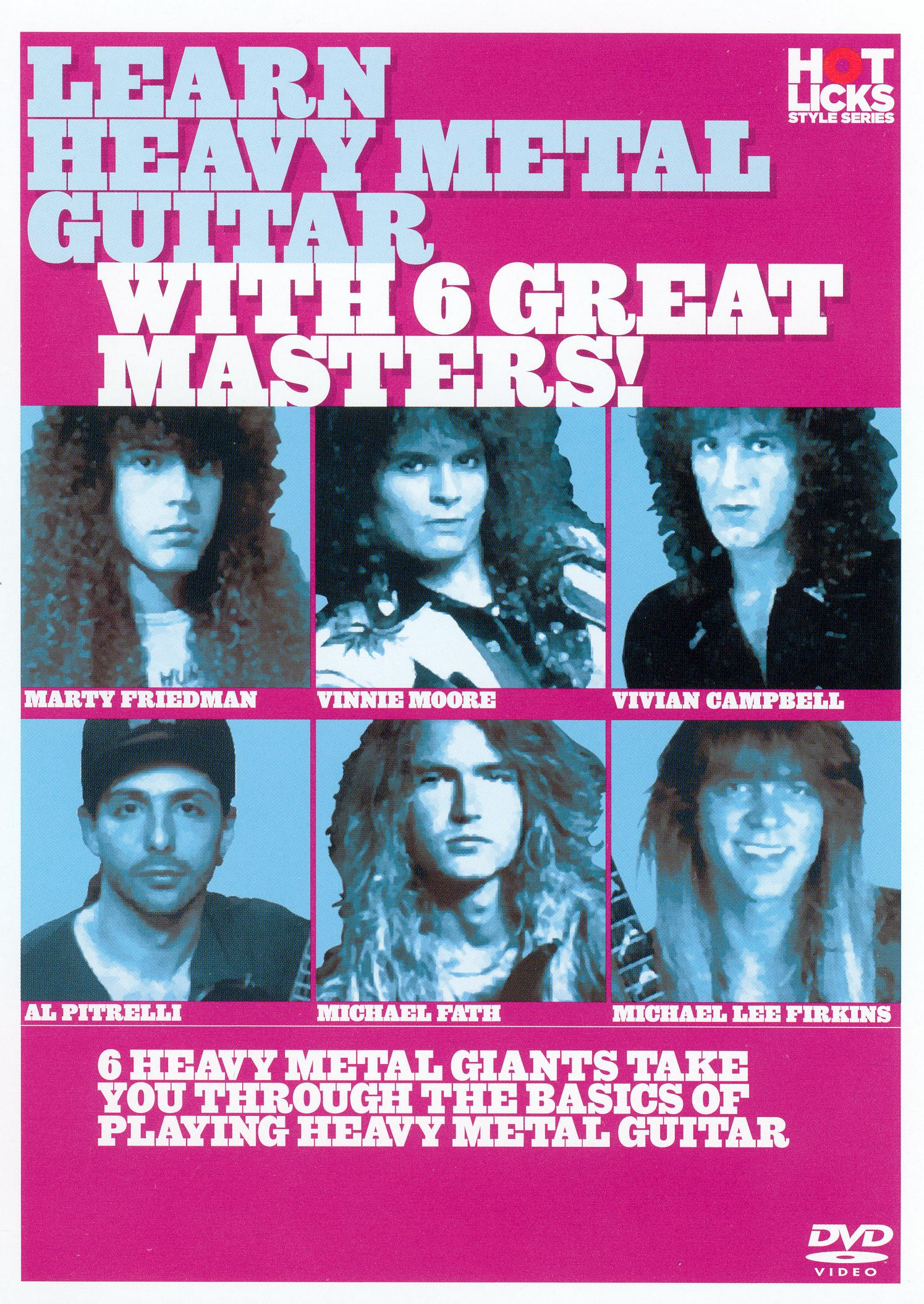 Learn Heavy Metal Guitar with 6 Great Masters