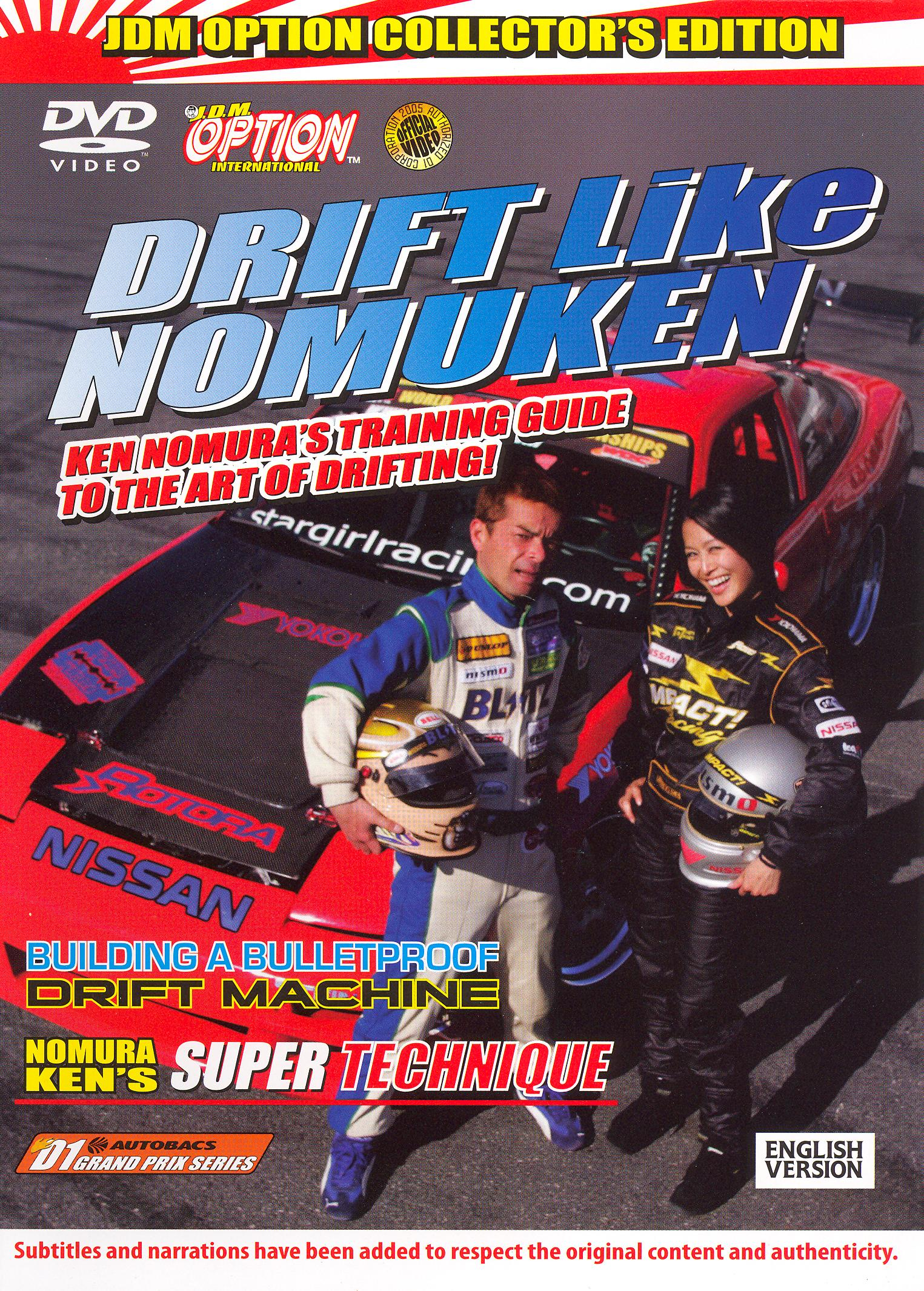 J.D.M. Option International: Drift Like Nomuken