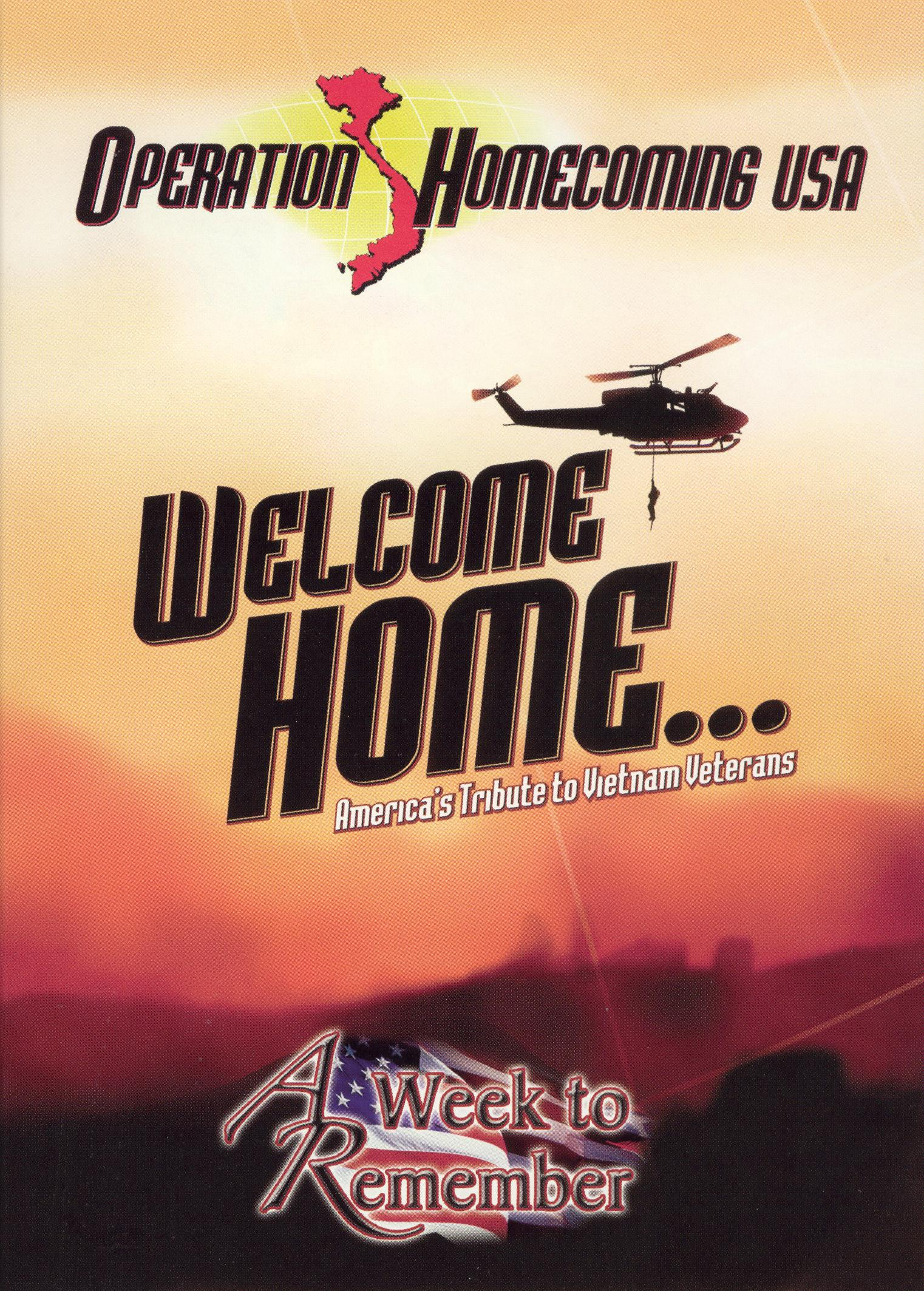 Operation Homecoming USA: Welcome Home