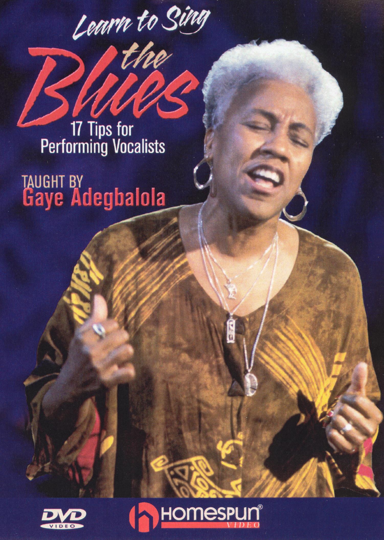 Gaye Adegbalola: Learn to Sing the Blues
