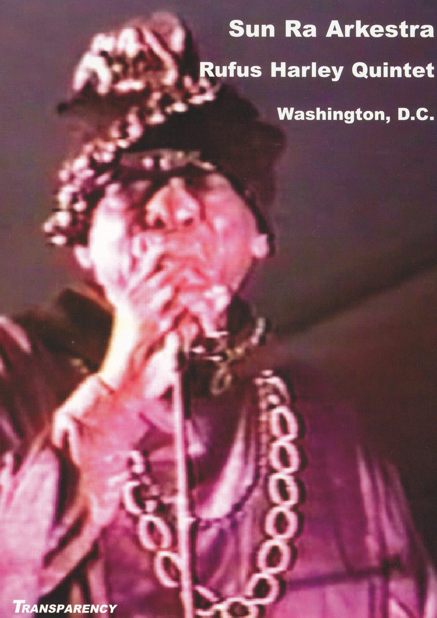 Sun Ra: Washington DC with Rufus Harley Quintet