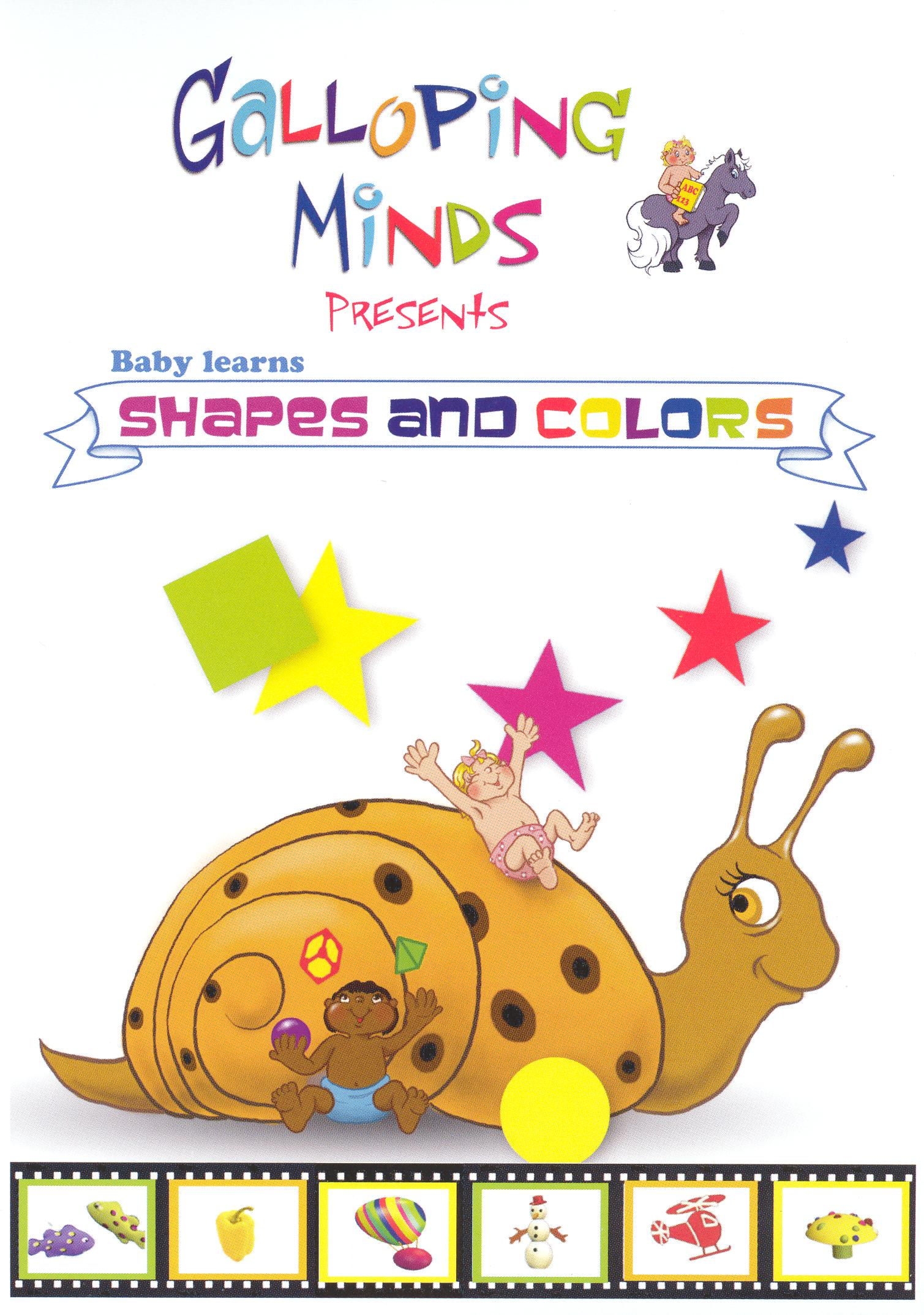 Galloping Minds, Vol. 2: Shapes and Colors