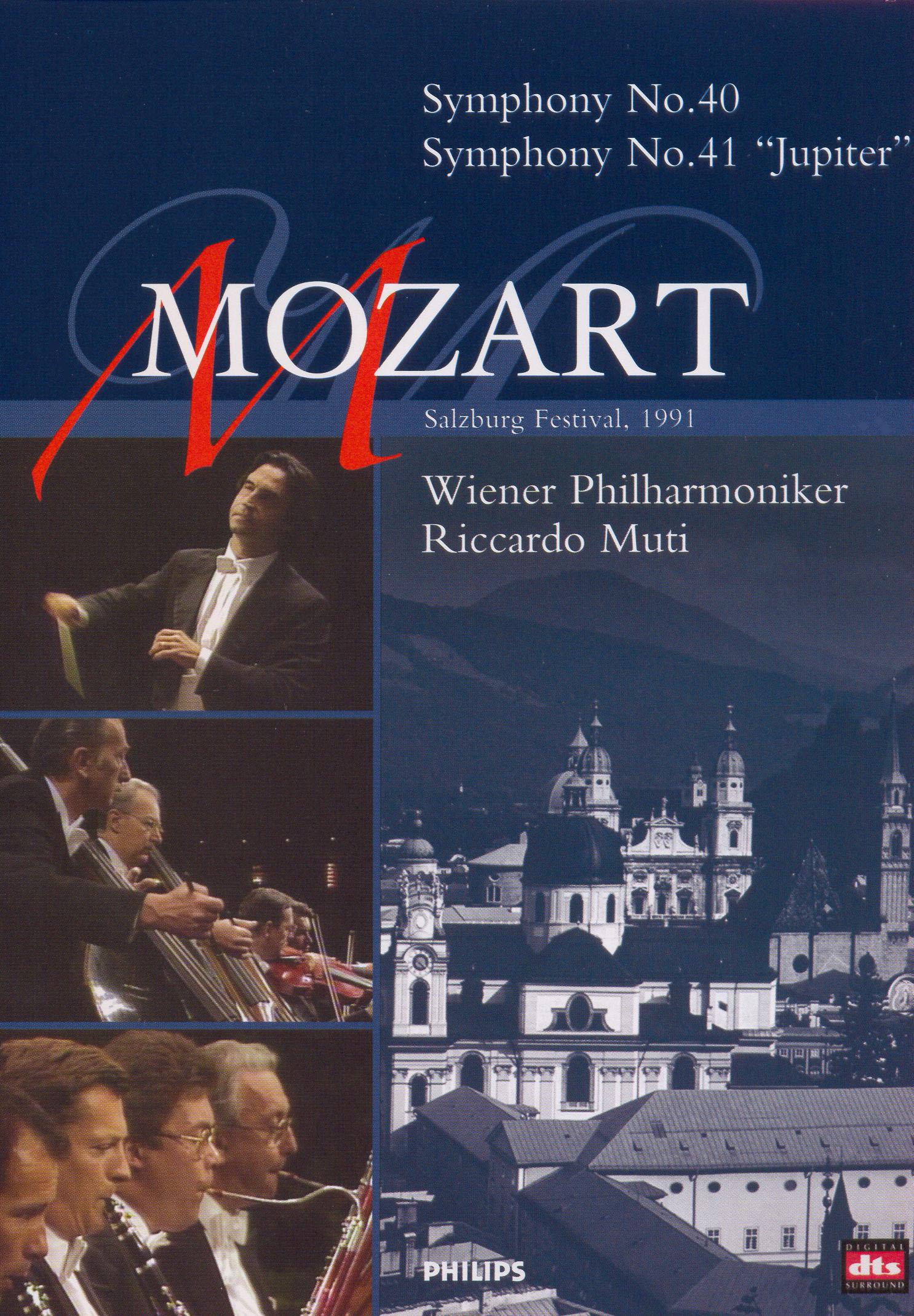 Mozart: Symphonies 40 & 41/Divertimenti