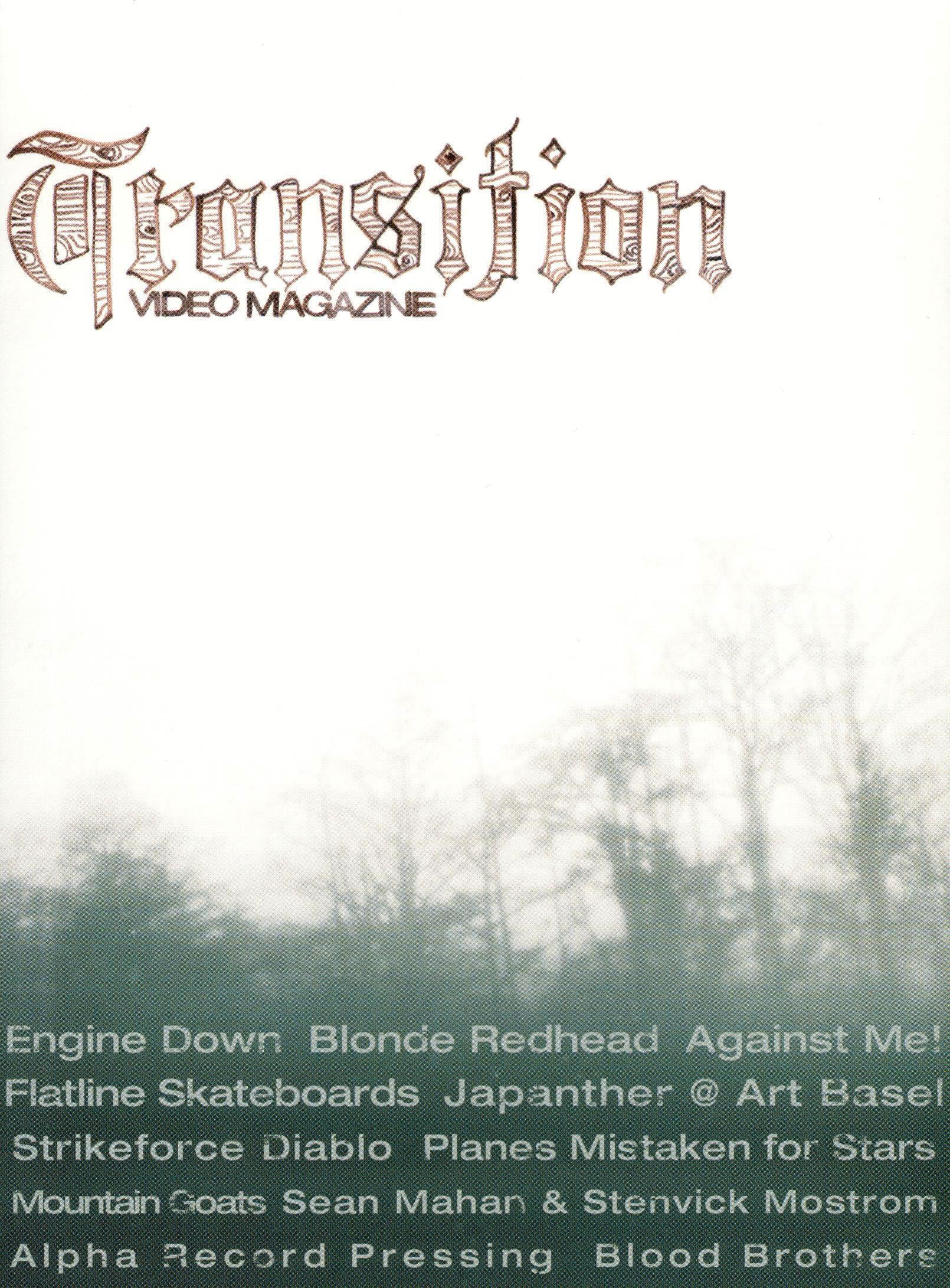 Transition Video Magazine, Vol. 1