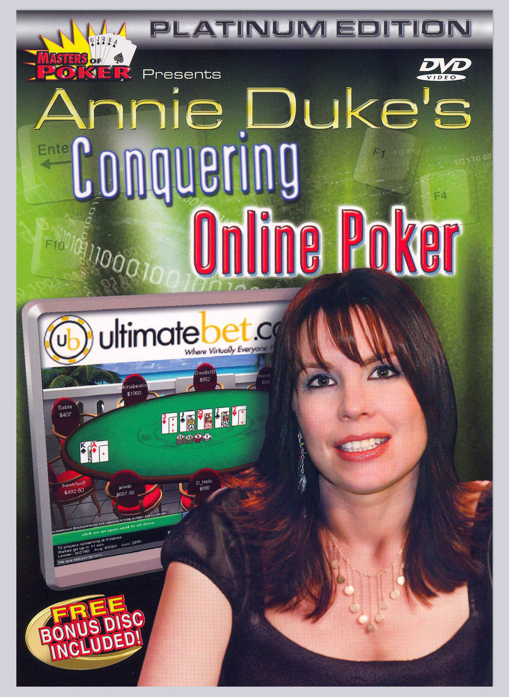 Masters of Poker: Annie Duke's Conquering Online Poker