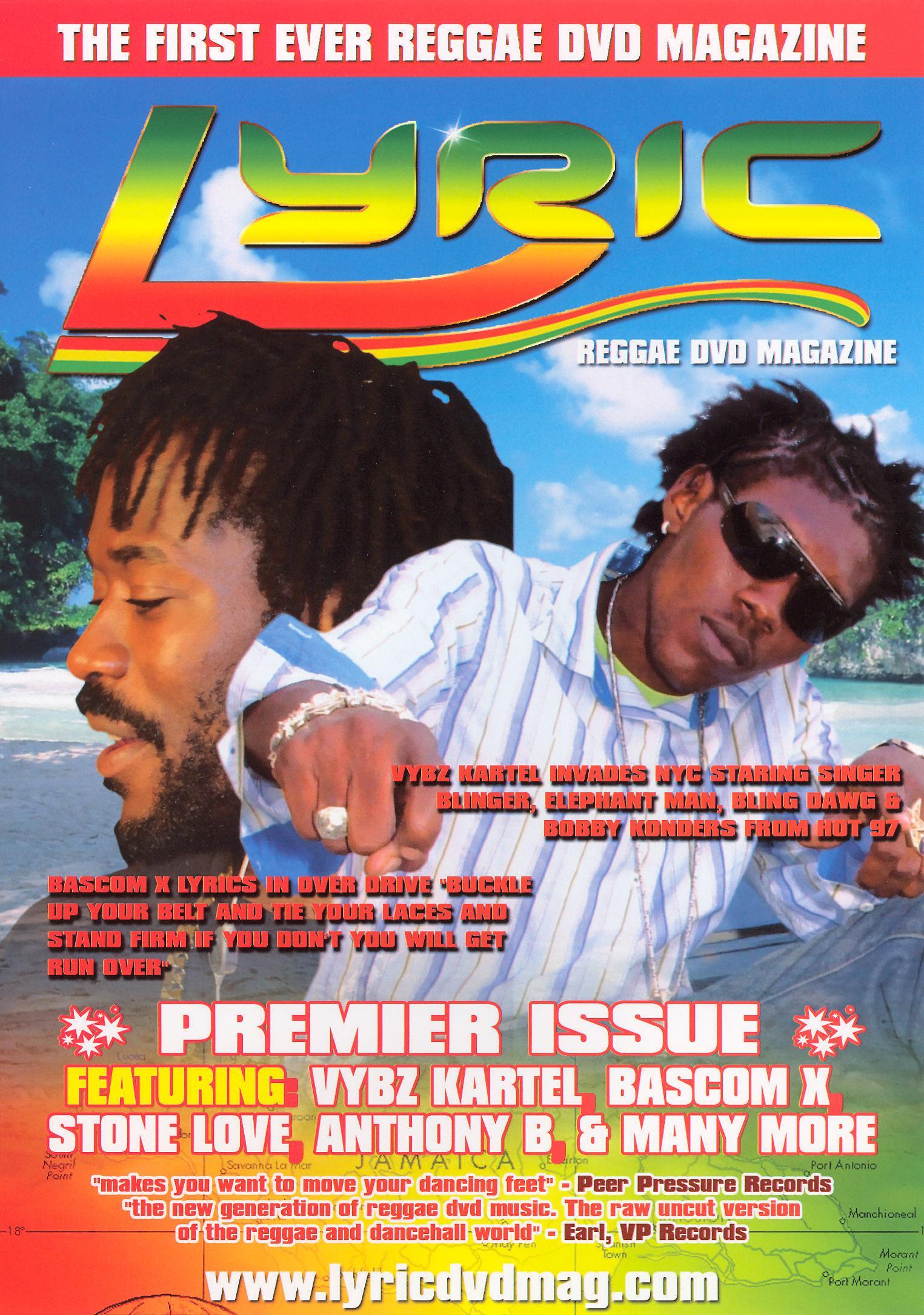 Lyric Reggae DVD Magazine