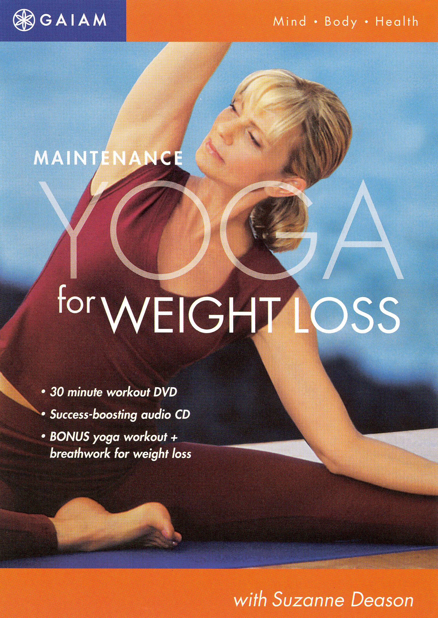 Maintenance Yoga for Weight Loss