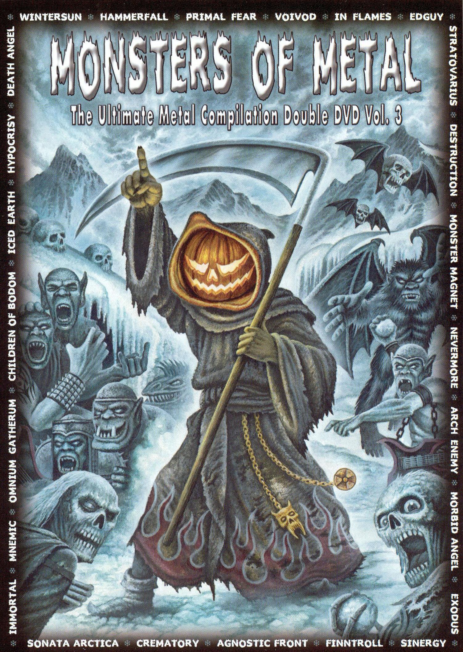 Monsters of Metal, Vol. 3