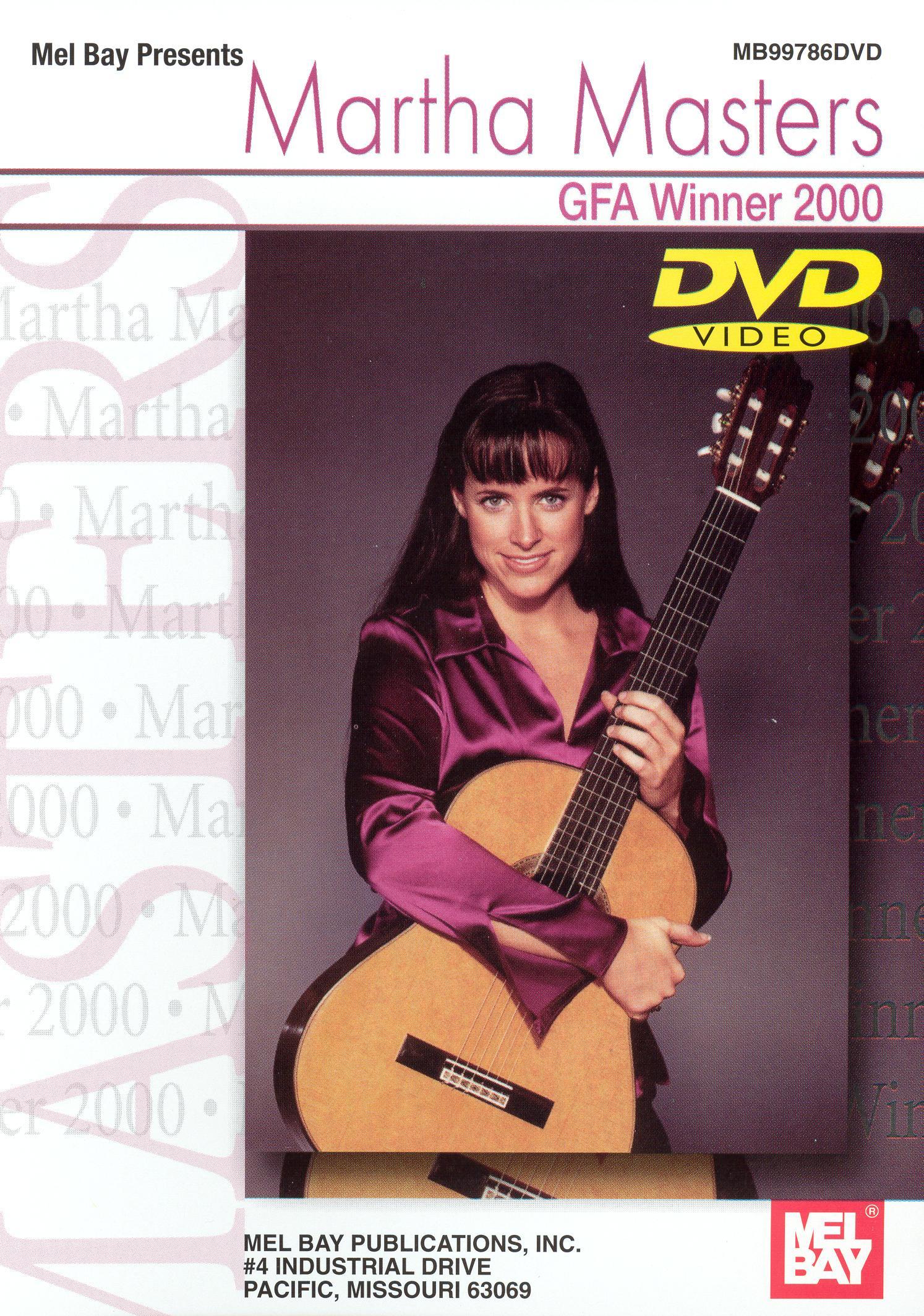 Martha Masters: GFA Winner 2000