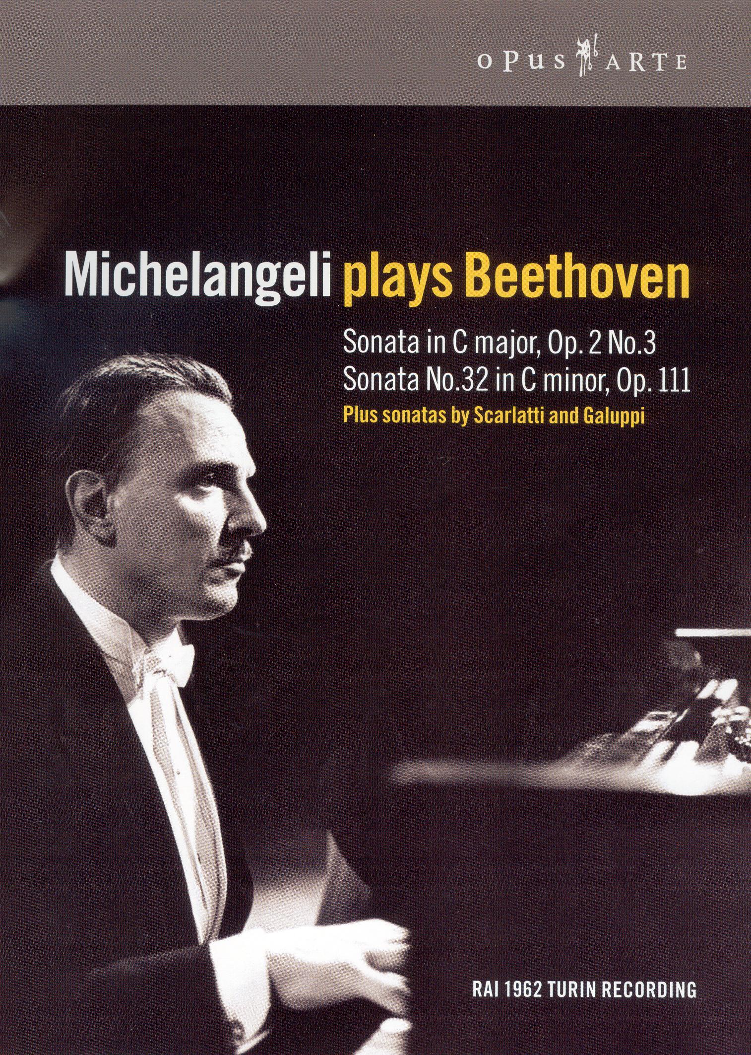 Michelangeli Plays Beethoven